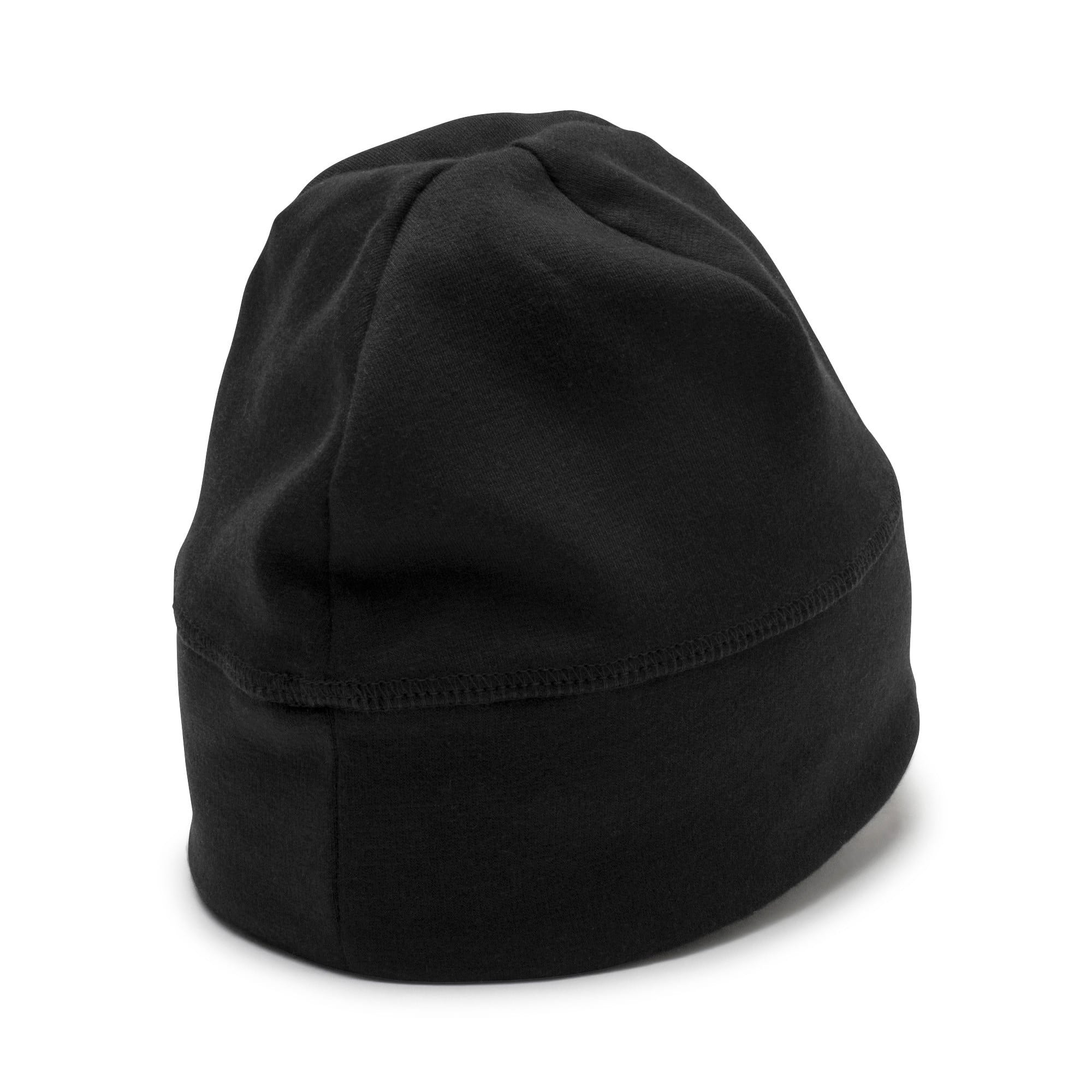 Thumbnail 2 of Reflective Running beanie, Puma Black, medium