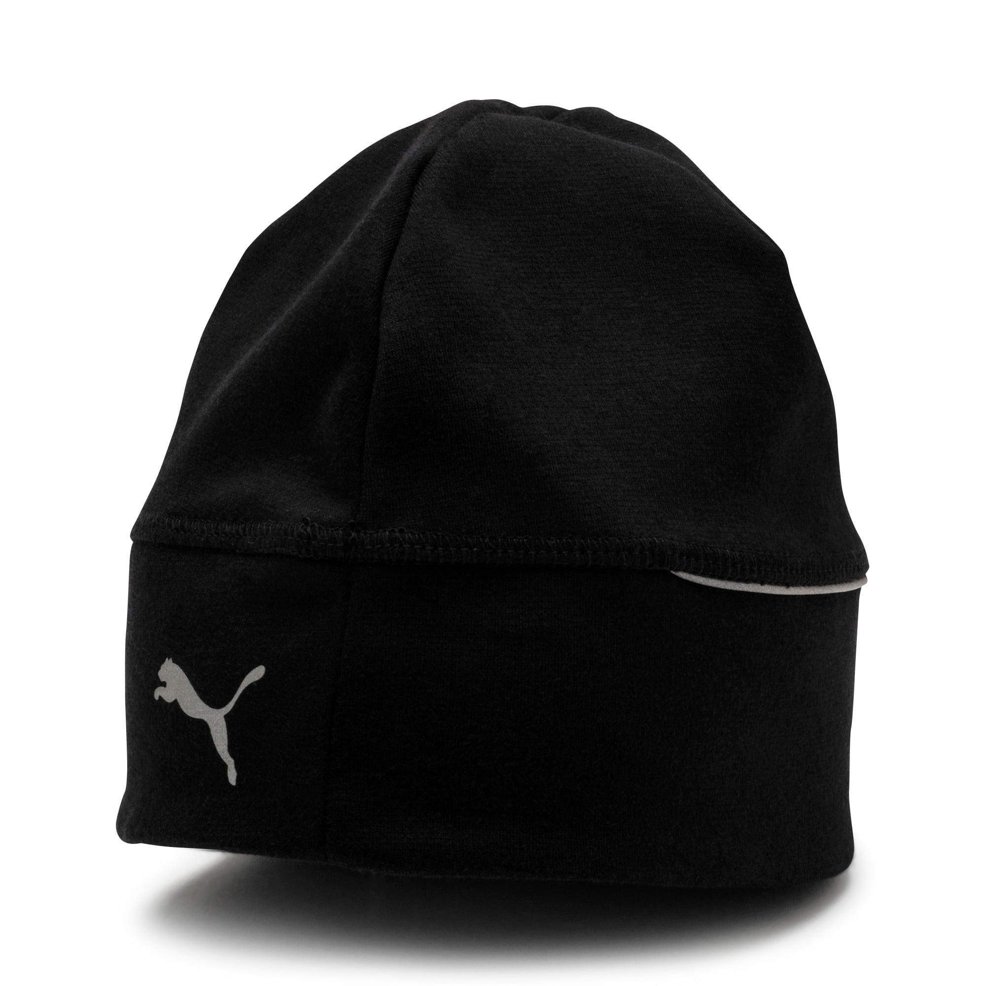 Thumbnail 1 of Reflective Running beanie, Puma Black, medium