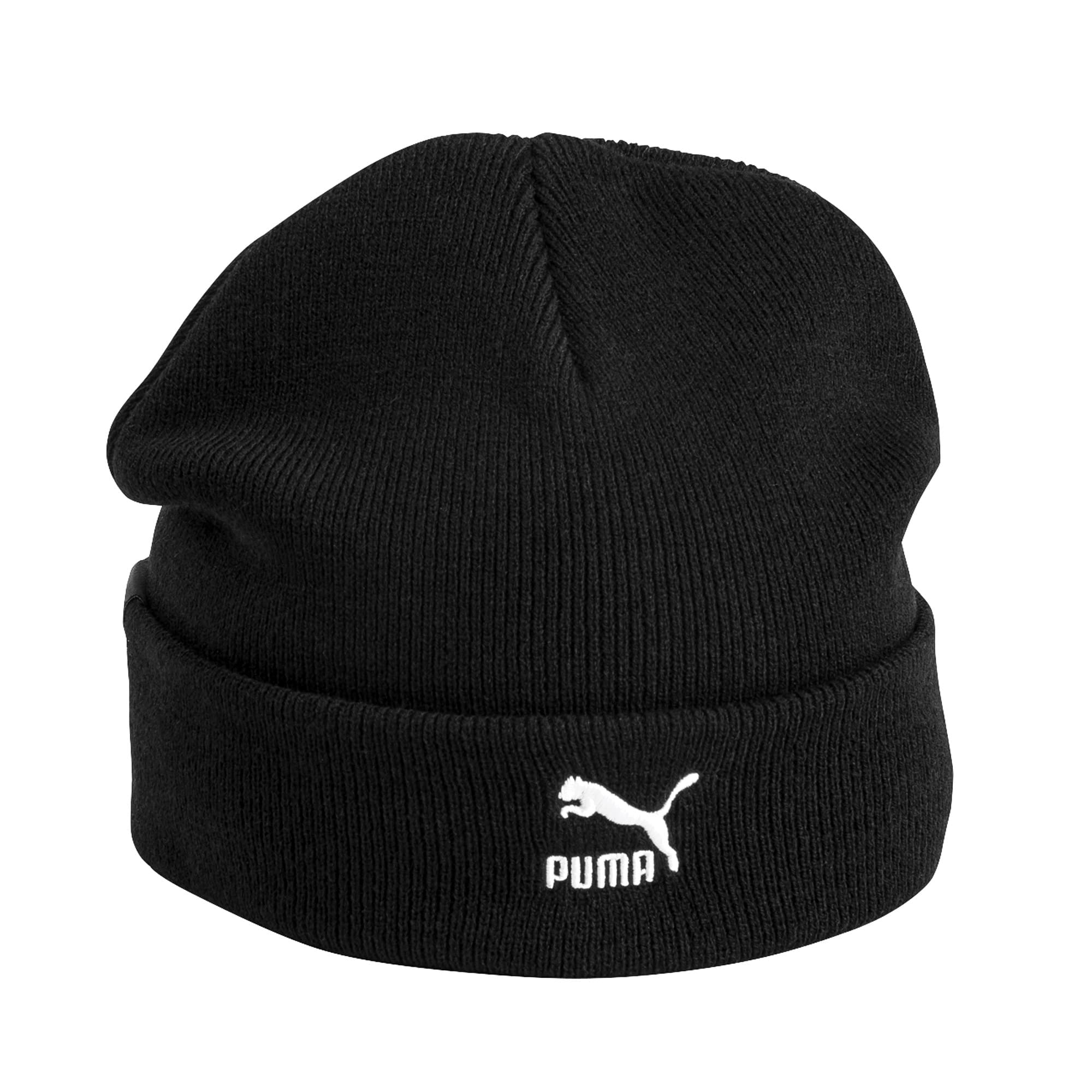 Thumbnail 4 of Archive Mid Fit Beanie, Puma Black, medium