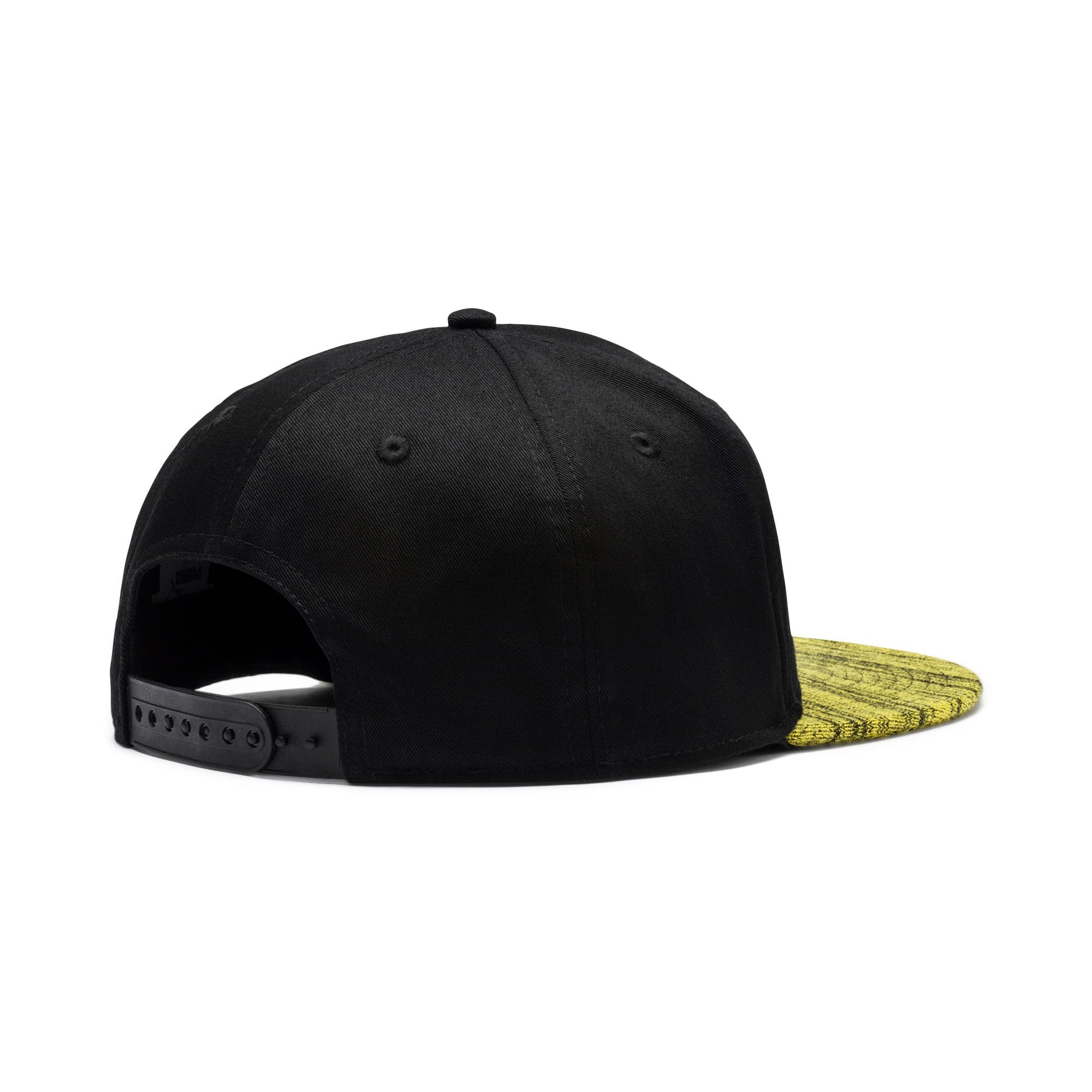 Thumbnail 2 of BVB Flatbrim Hat, Puma Black, medium