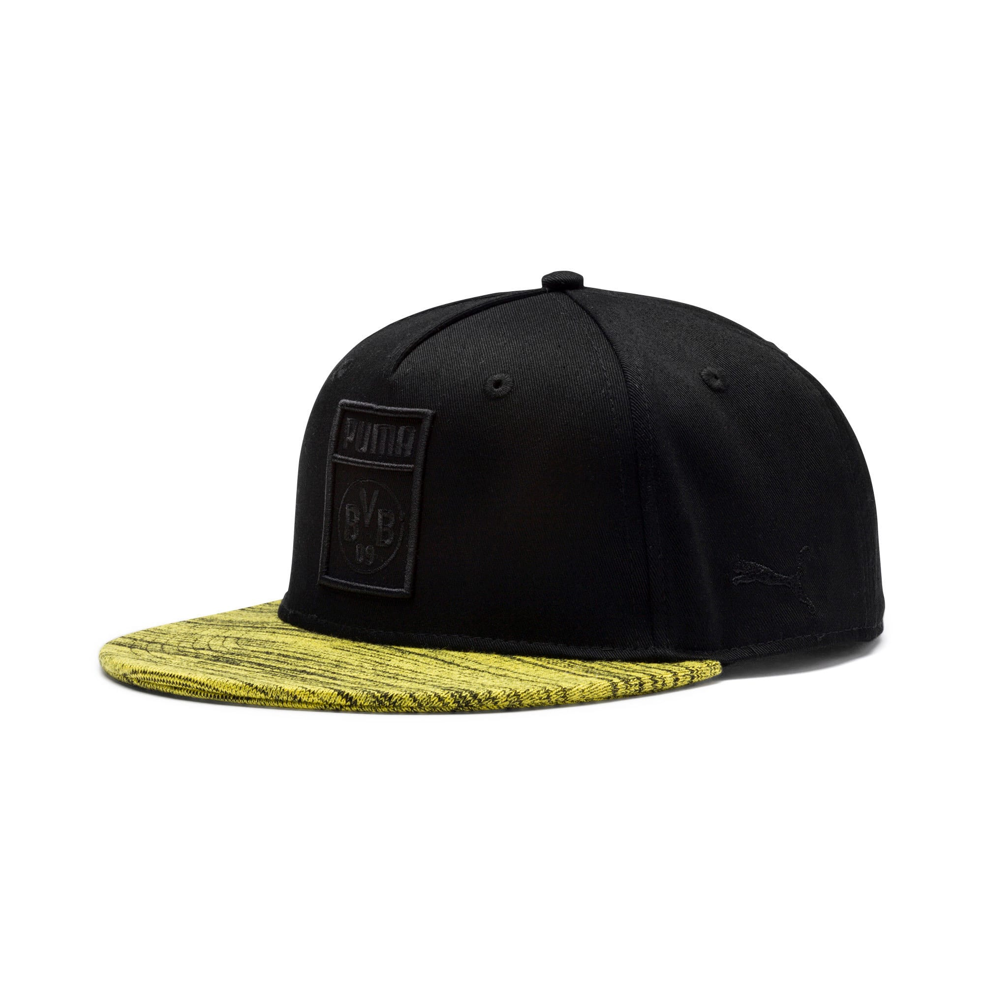 Thumbnail 1 of BVB Flatbrim Hat, Puma Black, medium