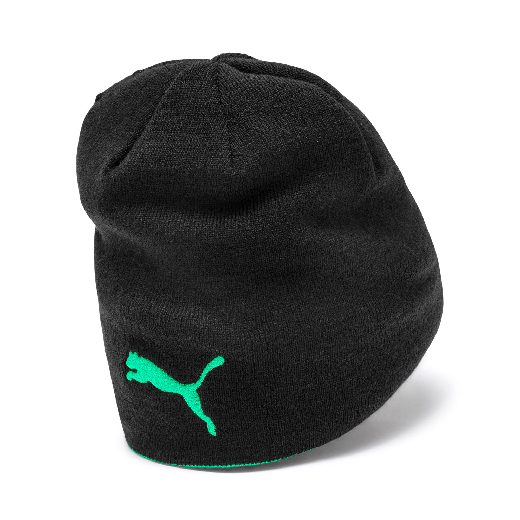 Thumbnail 2 of Bonnet réversible Borussia Mönchengladbach, Puma Black-Bright Green, medium