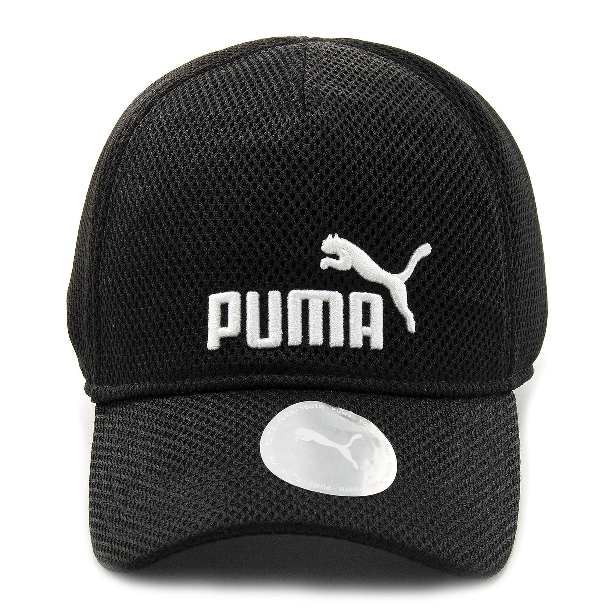 Thumbnail 4 of キッズ トレーニング メッシュ キャップ JR, Puma Black-No 1, medium-JPN