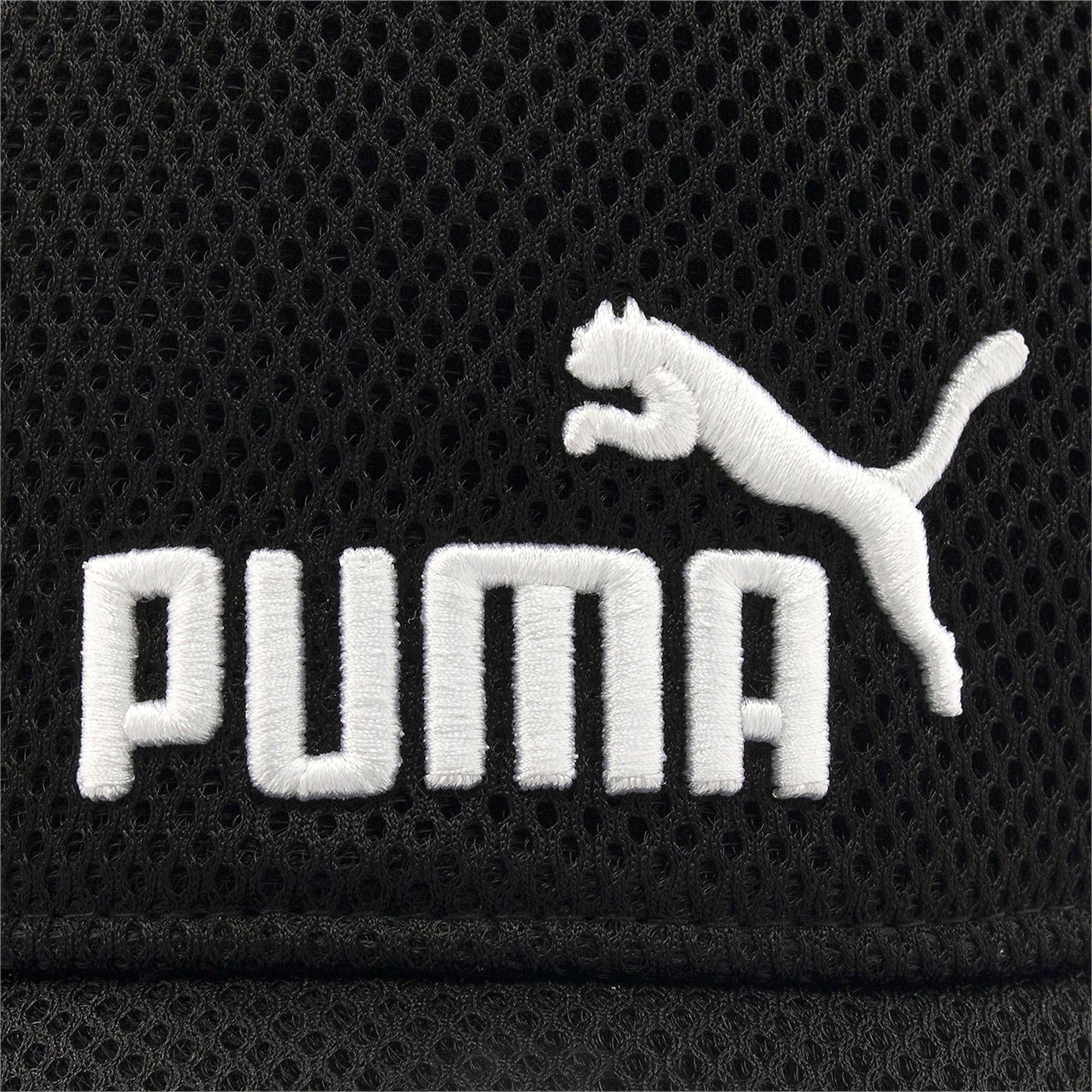 Thumbnail 6 of キッズ トレーニング メッシュ キャップ JR, Puma Black-No 1, medium-JPN