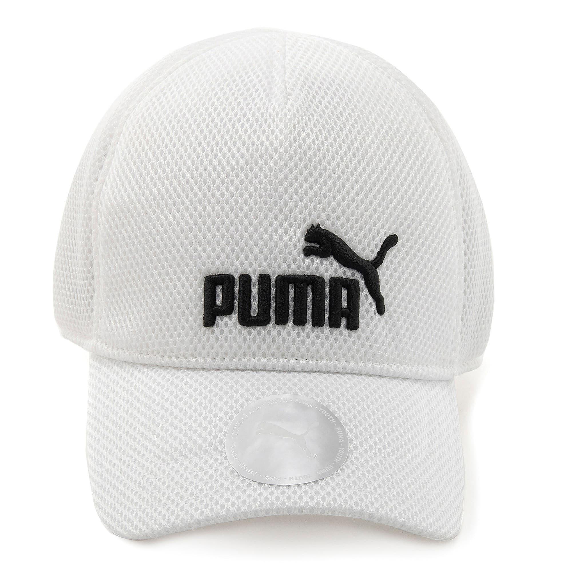 Thumbnail 4 of キッズ トレーニング メッシュ キャップ JR, Puma White-No 1, medium-JPN