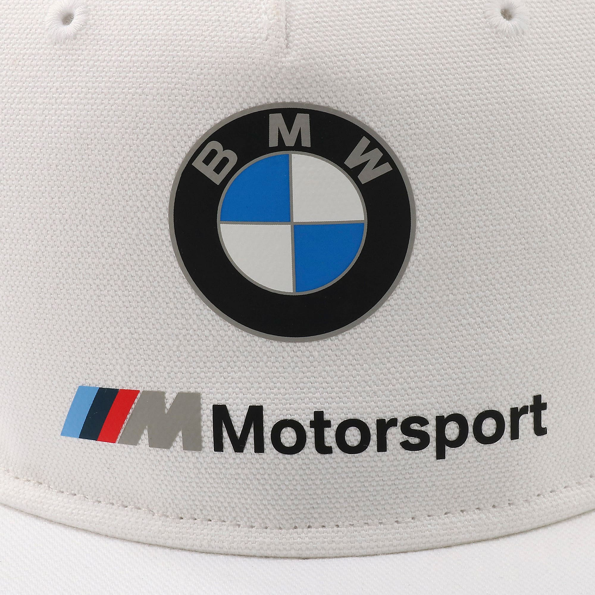 Thumbnail 6 of BMW M モータースポーツ FB キャップ, Puma White, medium-JPN