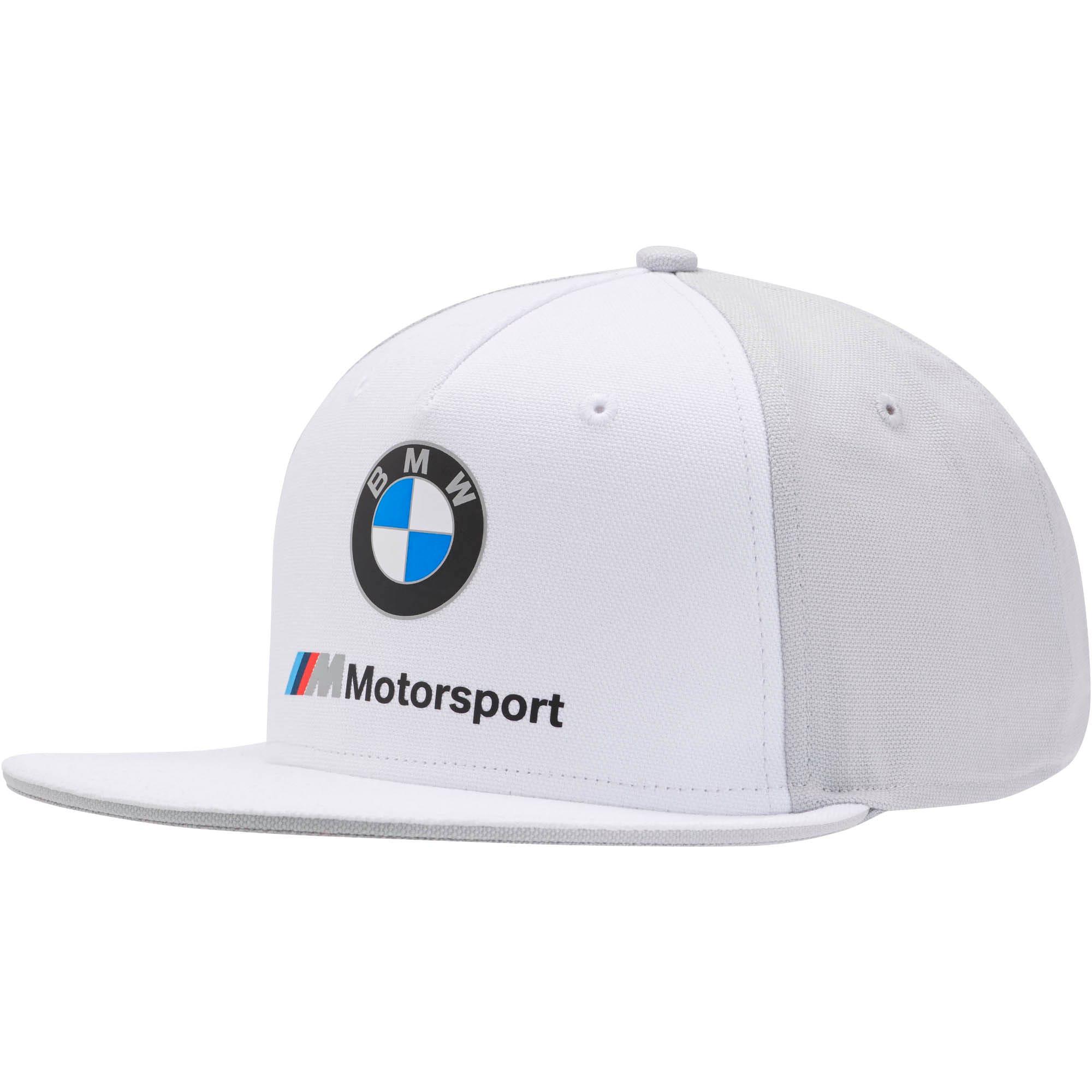 Thumbnail 1 of BMW M モータースポーツ FB キャップ, Puma White, medium-JPN