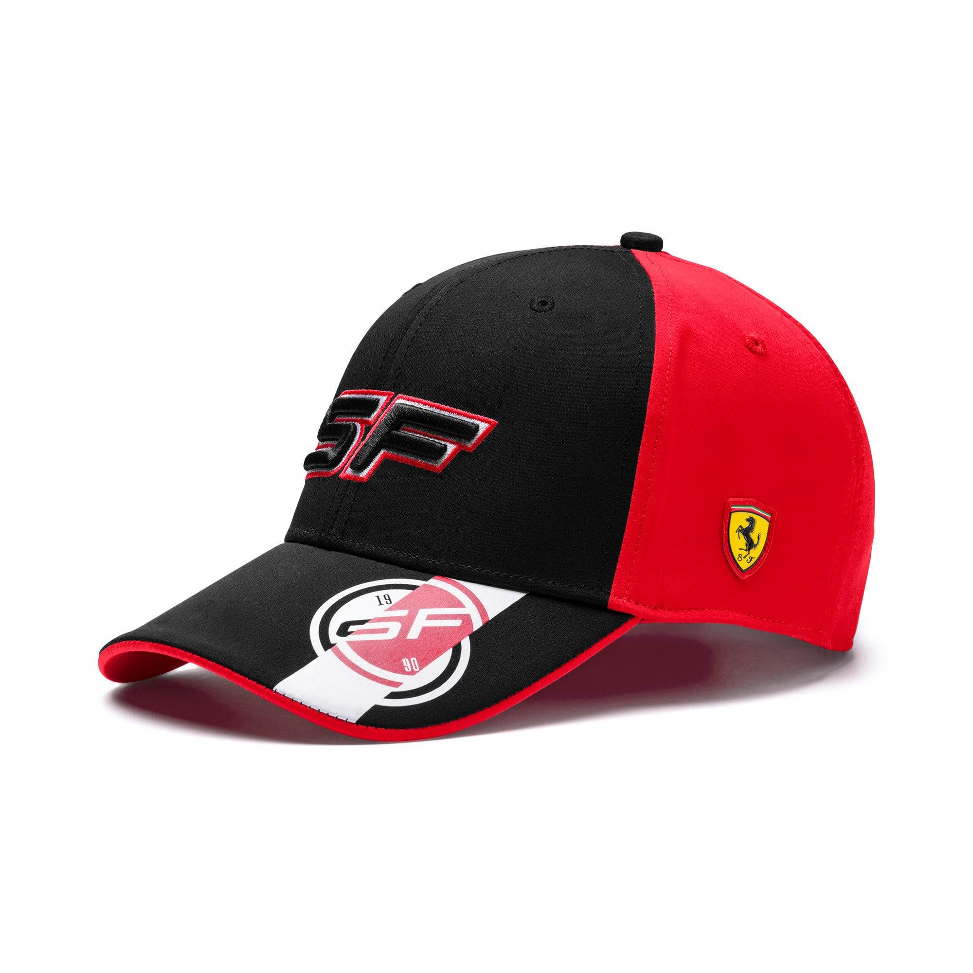 Thumbnail 1 of Scuderia Ferrari Fanwear Street Cap, Puma Black, medium