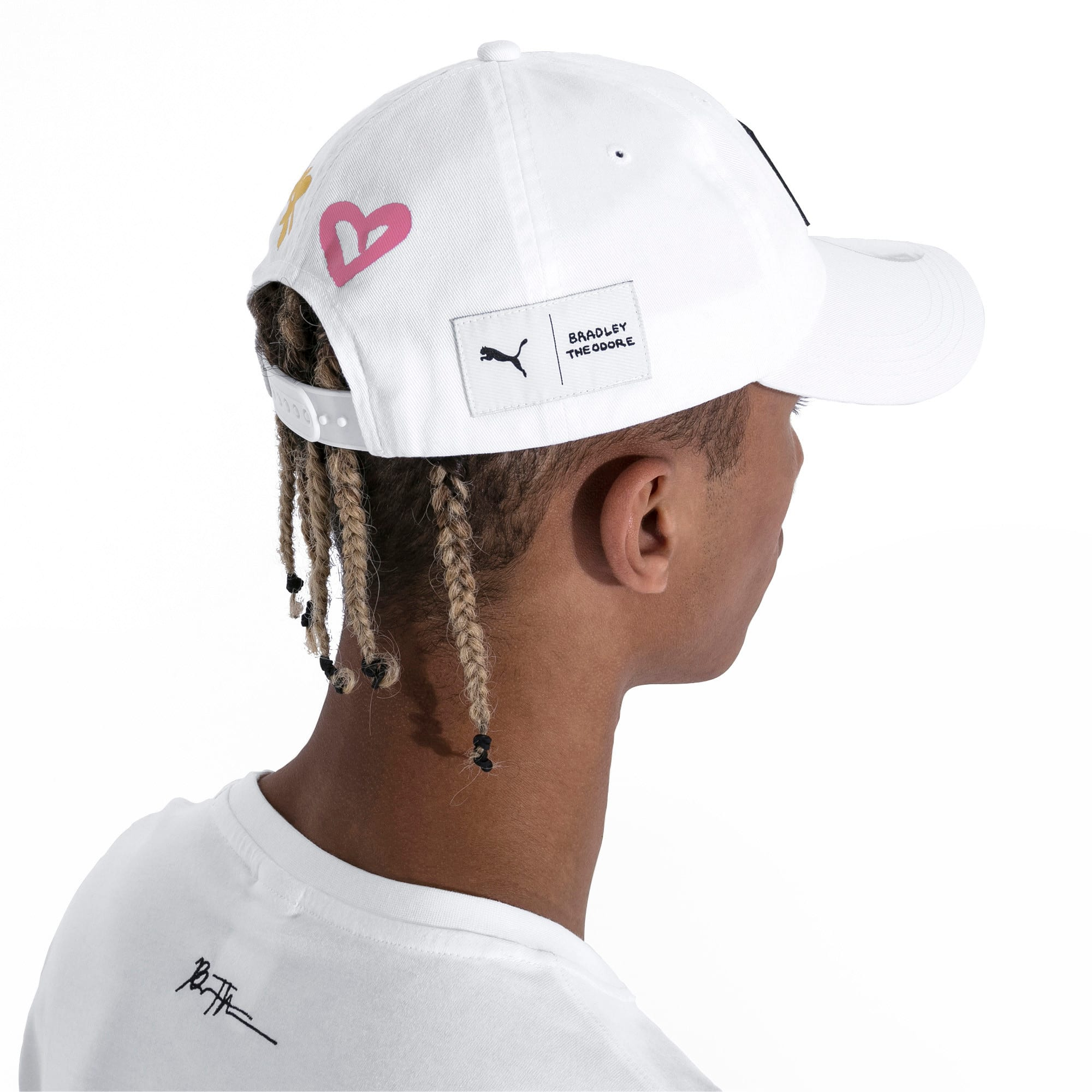 Thumbnail 4 of PUMA x BRADLEY THEODORE Cap, Puma White, medium