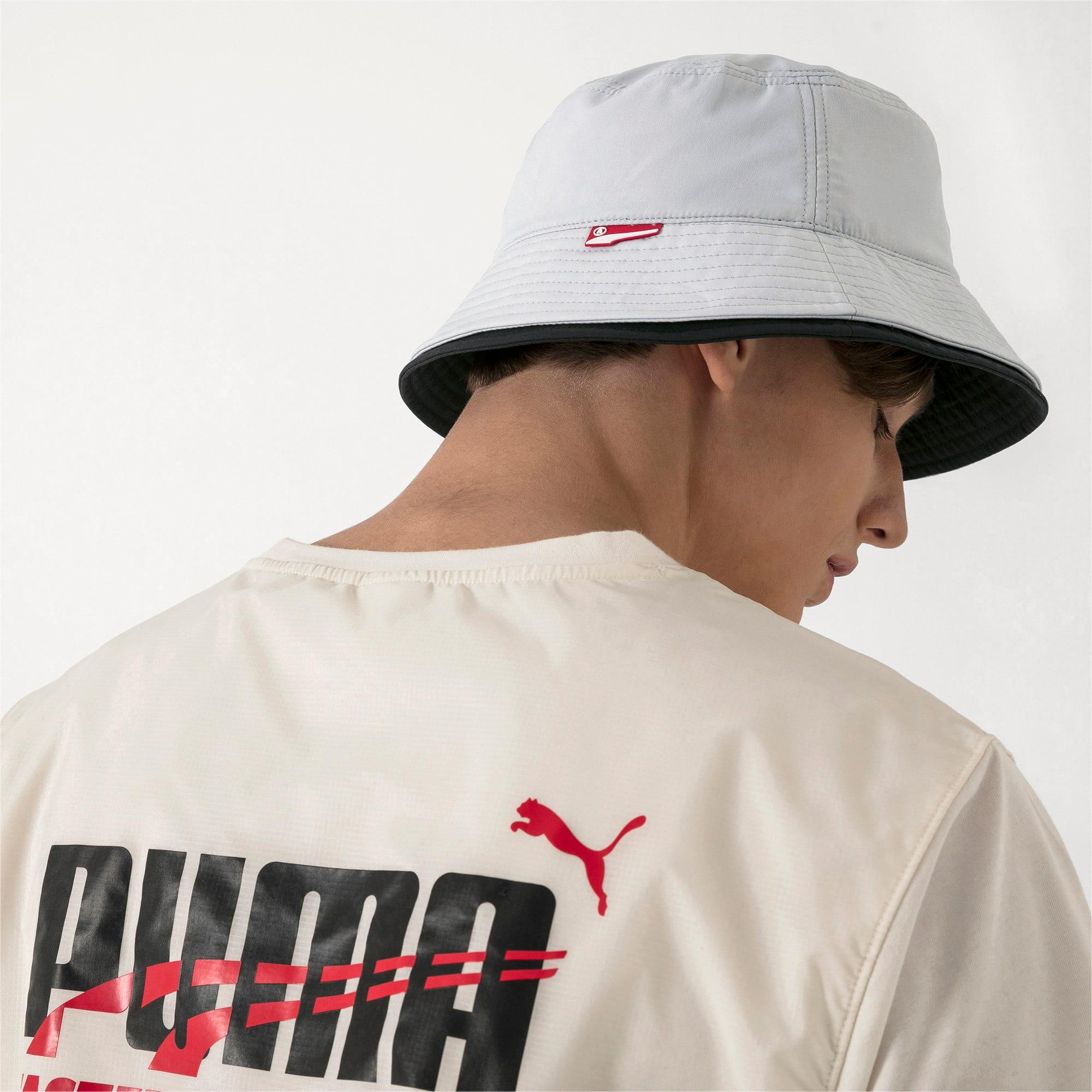 Thumbnail 4 of PUMA x ADER ERROR Bucket Hat, Glacier Gray, medium