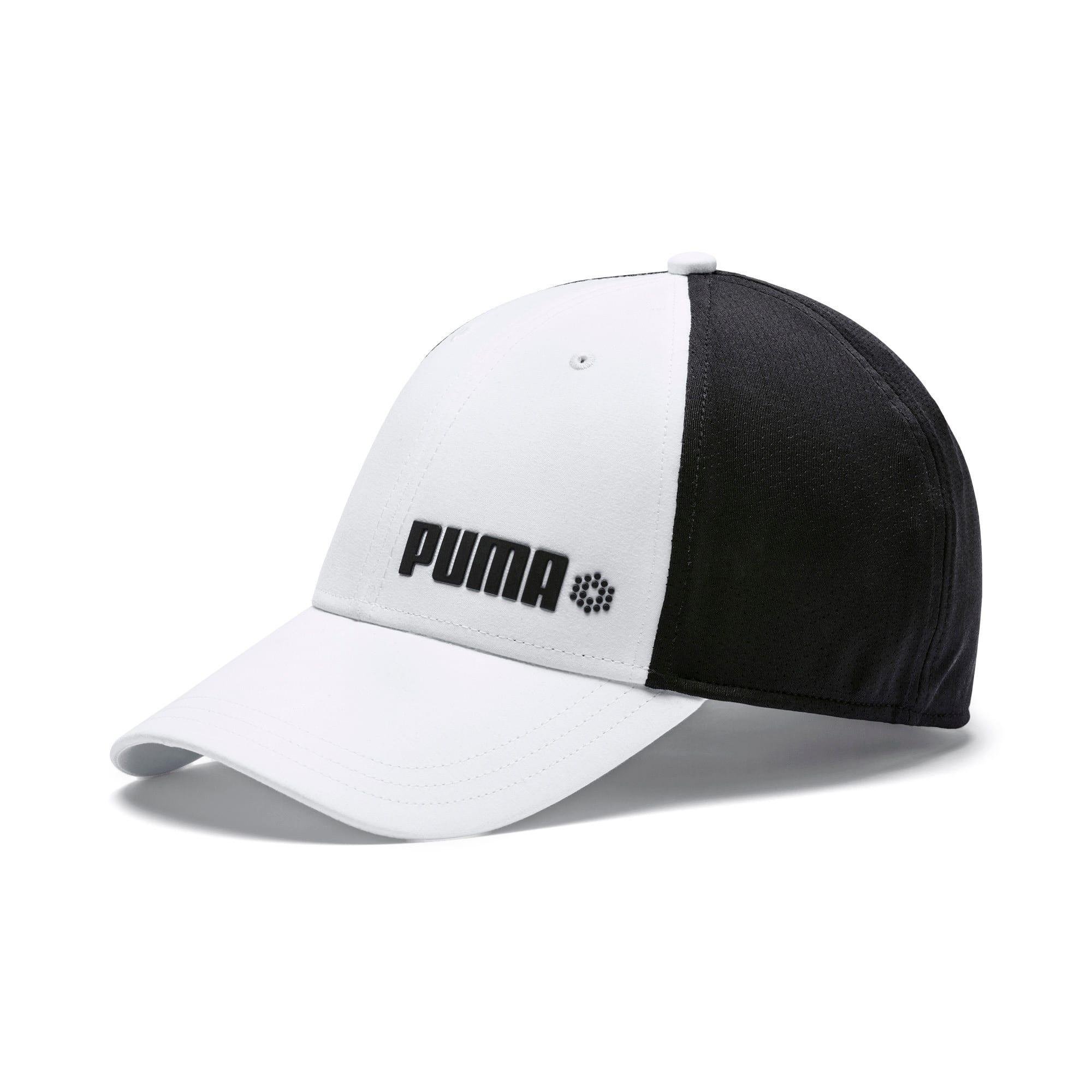 Thumbnail 1 of Dot Mesh Stretch Fit Cap, Bright White, medium