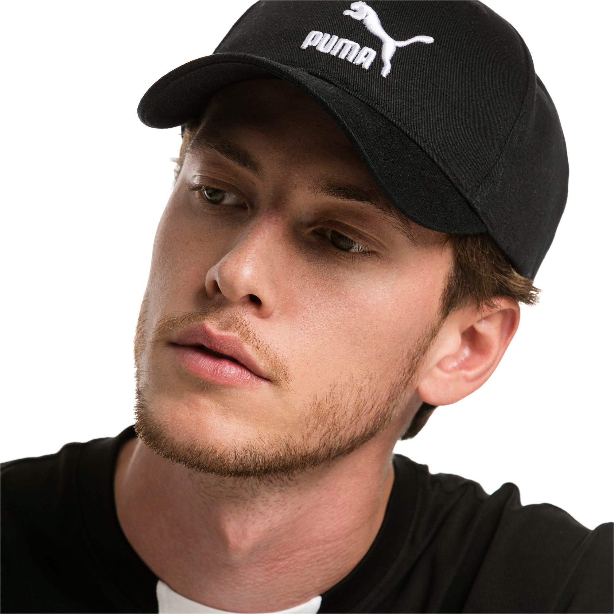 Thumbnail 3 of Archive Logo Baseball Cap, Puma Black, medium