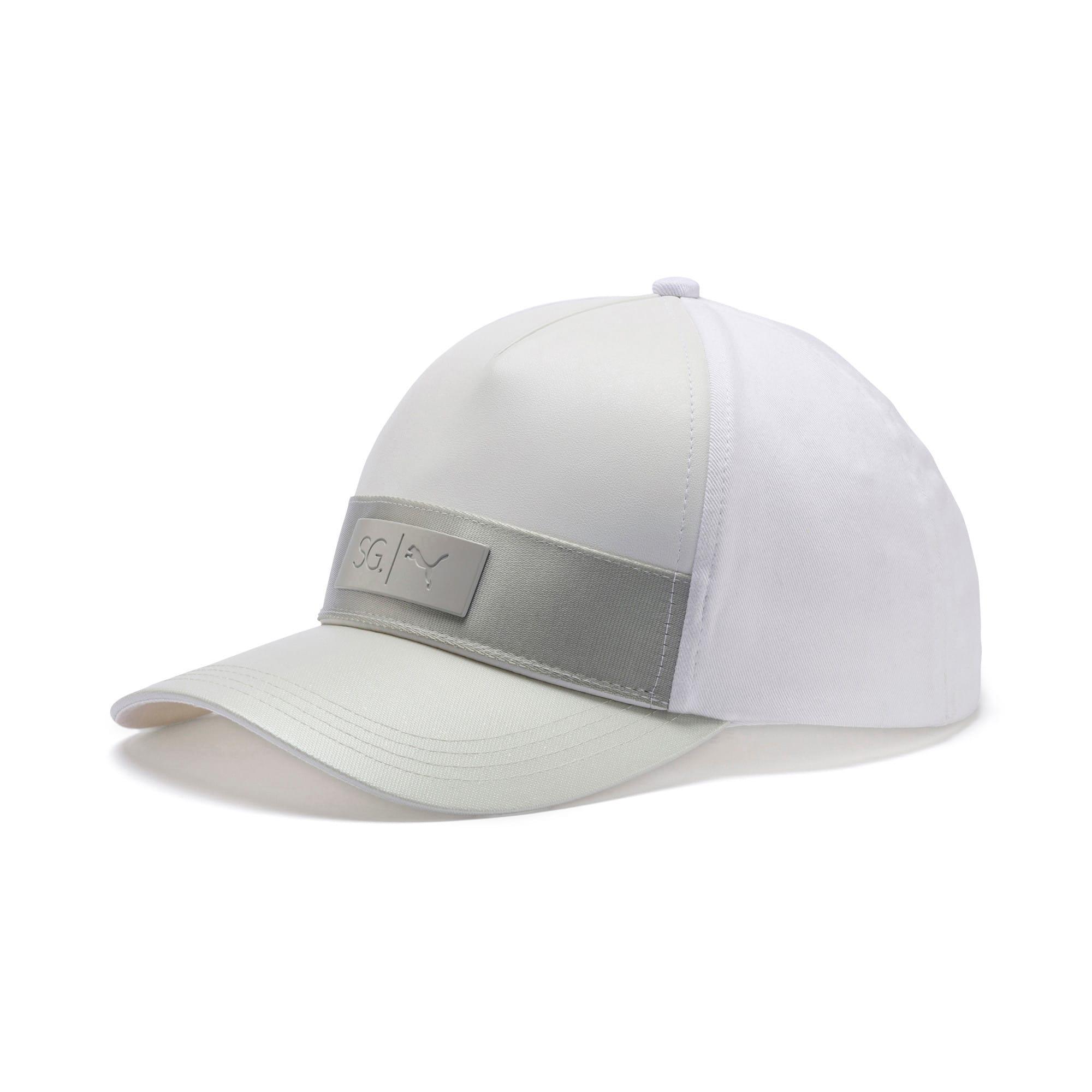 Thumbnail 1 of SG x PUMA Style Cap, Puma White, medium