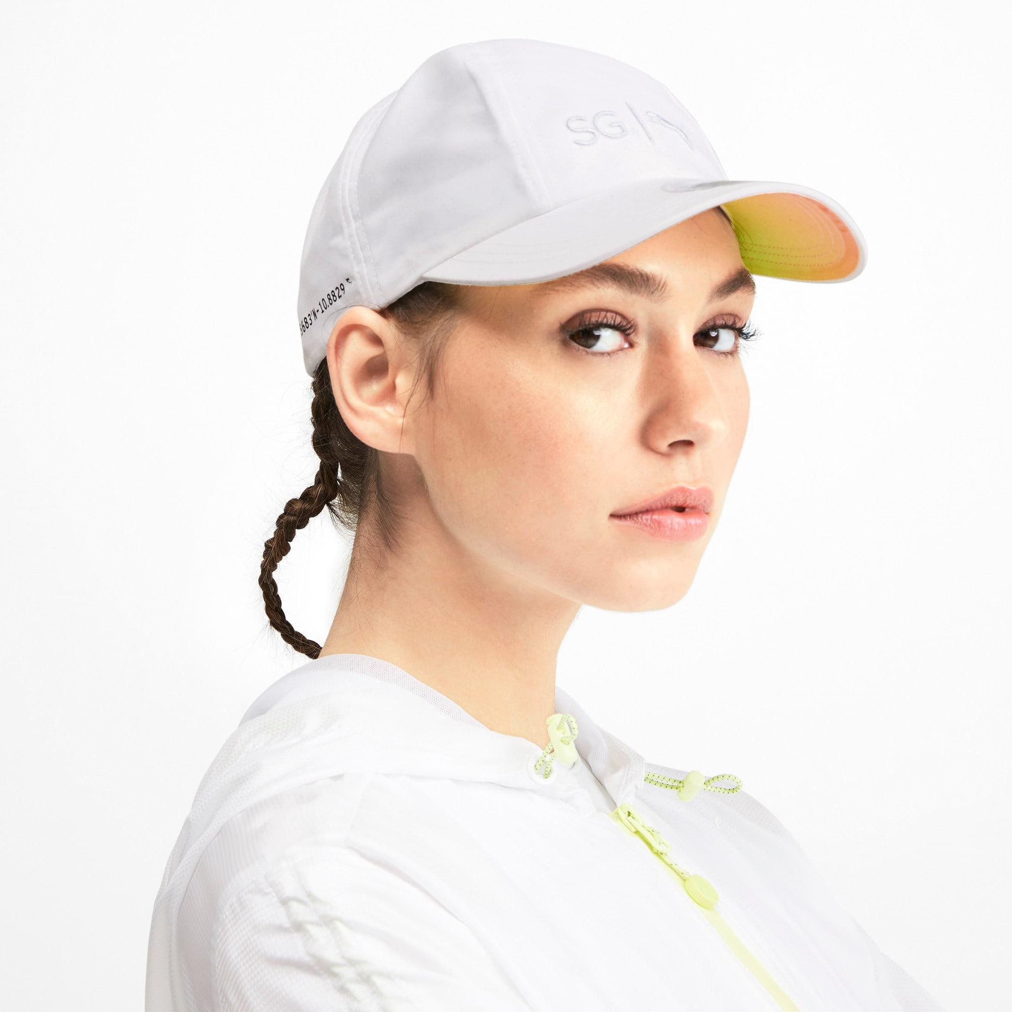 Miniatura 2 de Gorra SG x PUMA Gradient Sport, Puma White, mediano