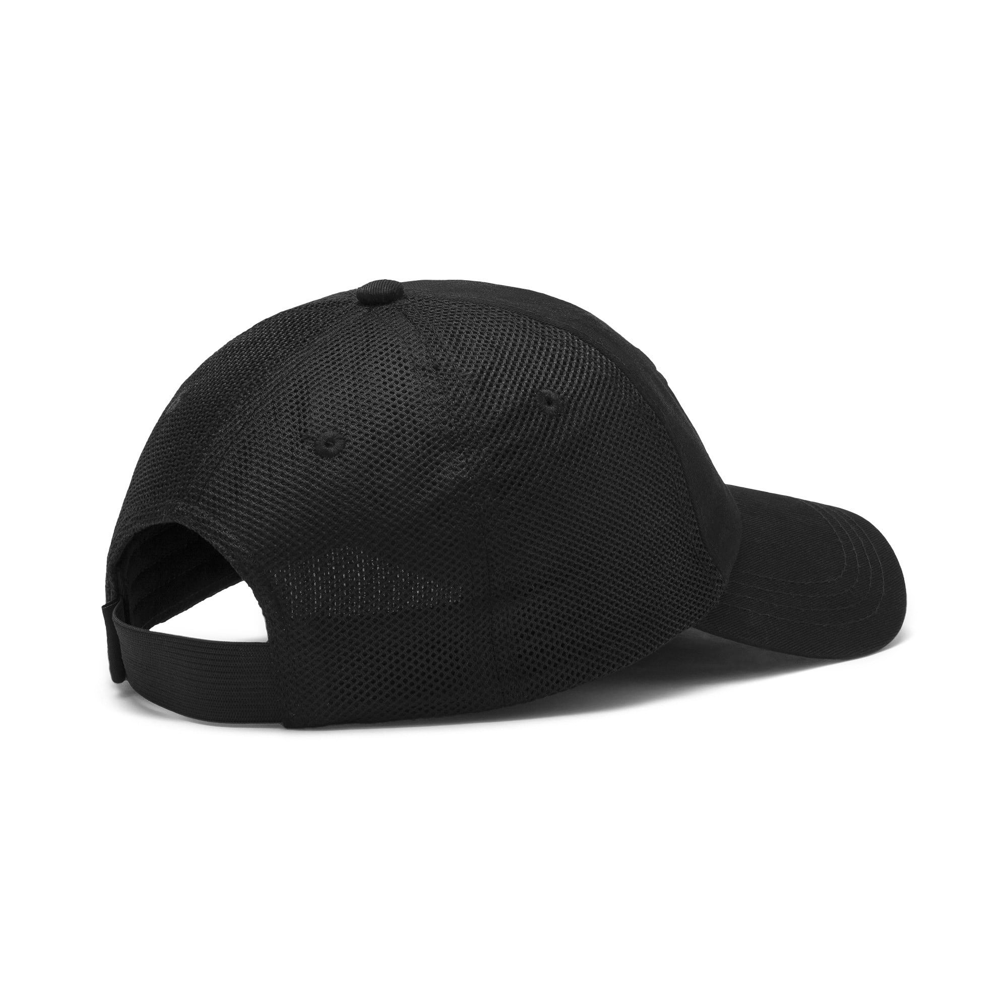 Thumbnail 3 of ftblNXT Cap, Puma Black-Phantom Black, medium