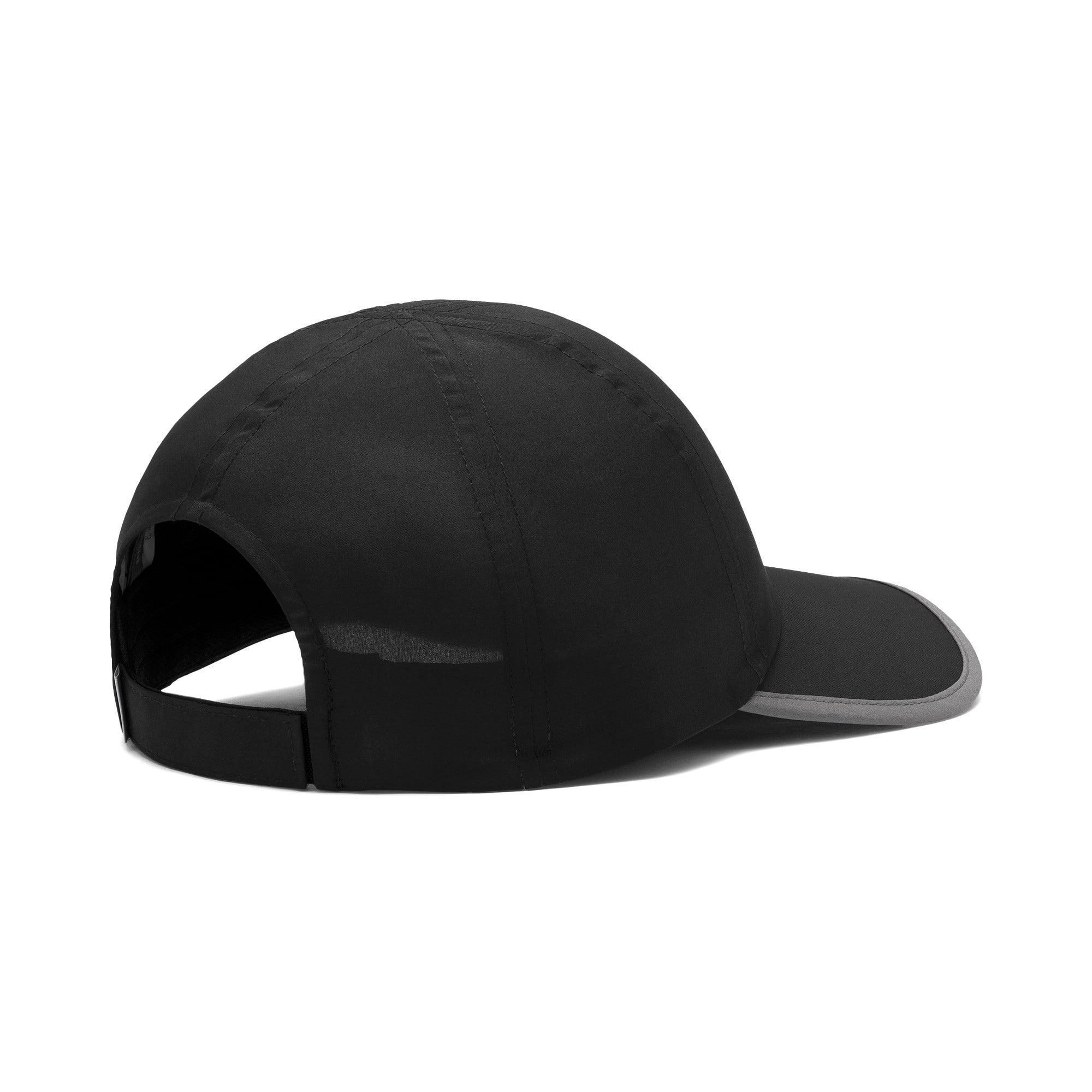 Thumbnail 3 of ESS Running Cap, Puma Black-Cat, medium