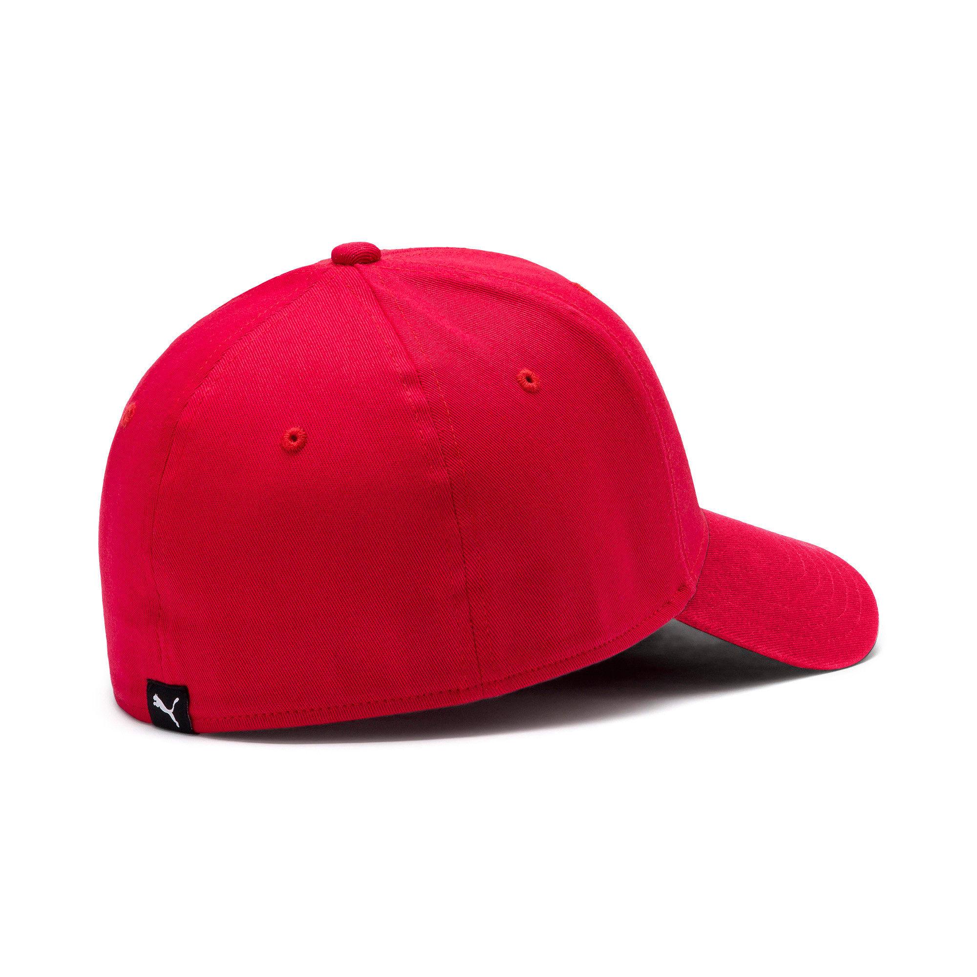 Thumbnail 3 of Stretchfit Baseball Cap, High Risk Red, medium