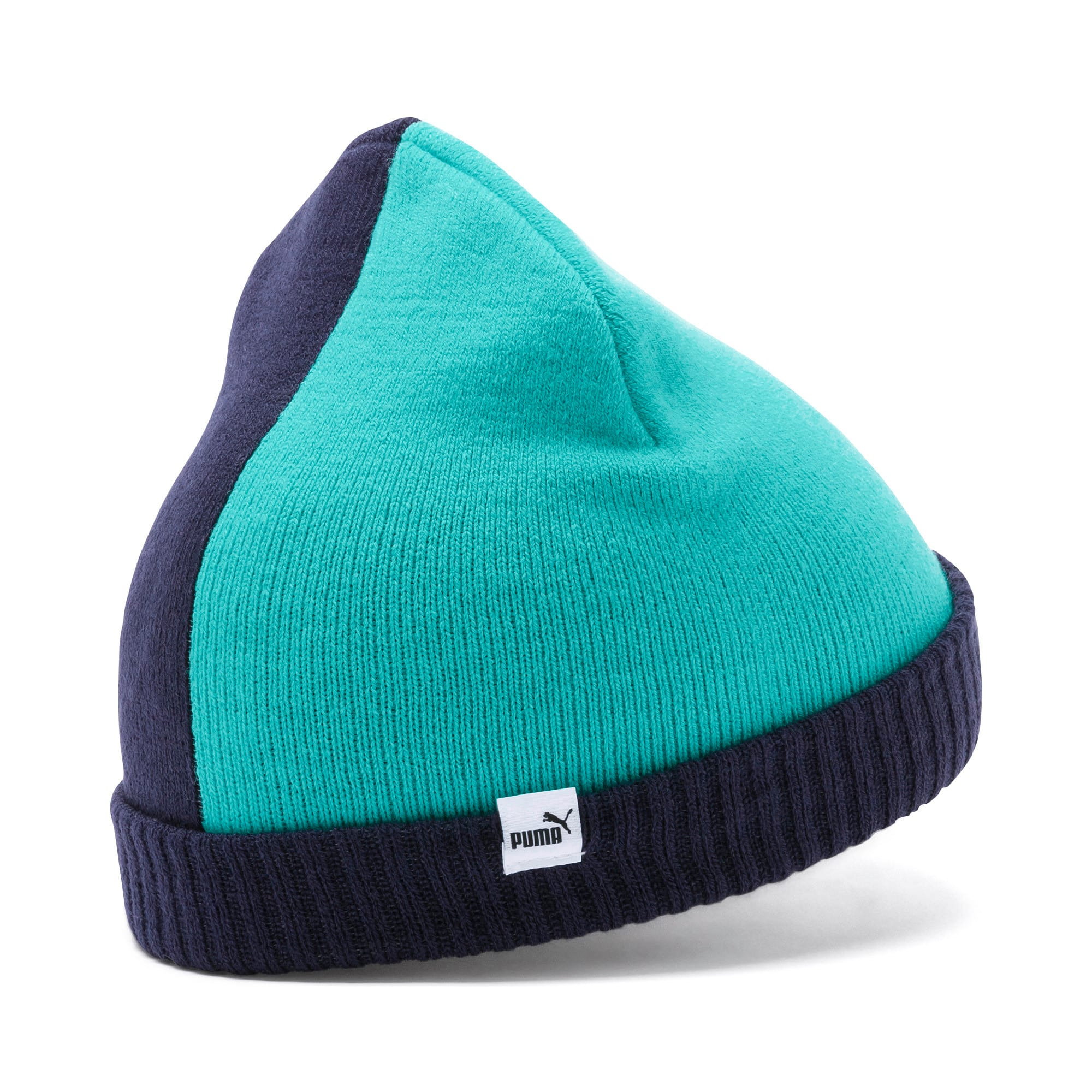 Minicats Kids' Beanie, Peacoat-Blue Turquoise, large