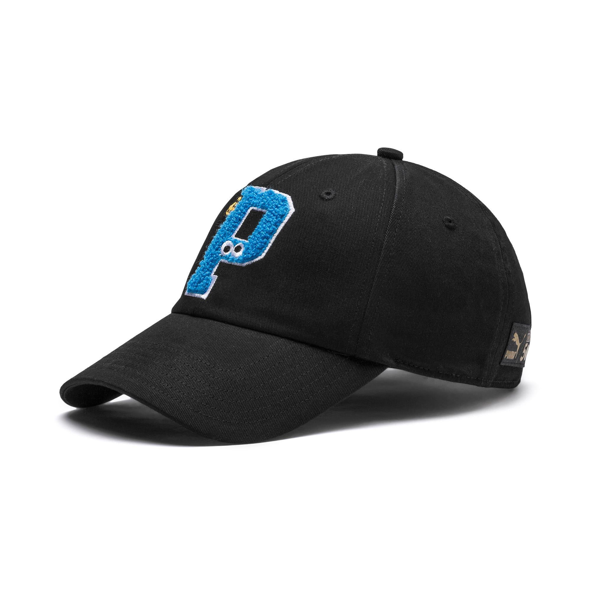 Thumbnail 1 of PUMA x SESAME STREET Kids' Baseball Cap, Puma Black, medium