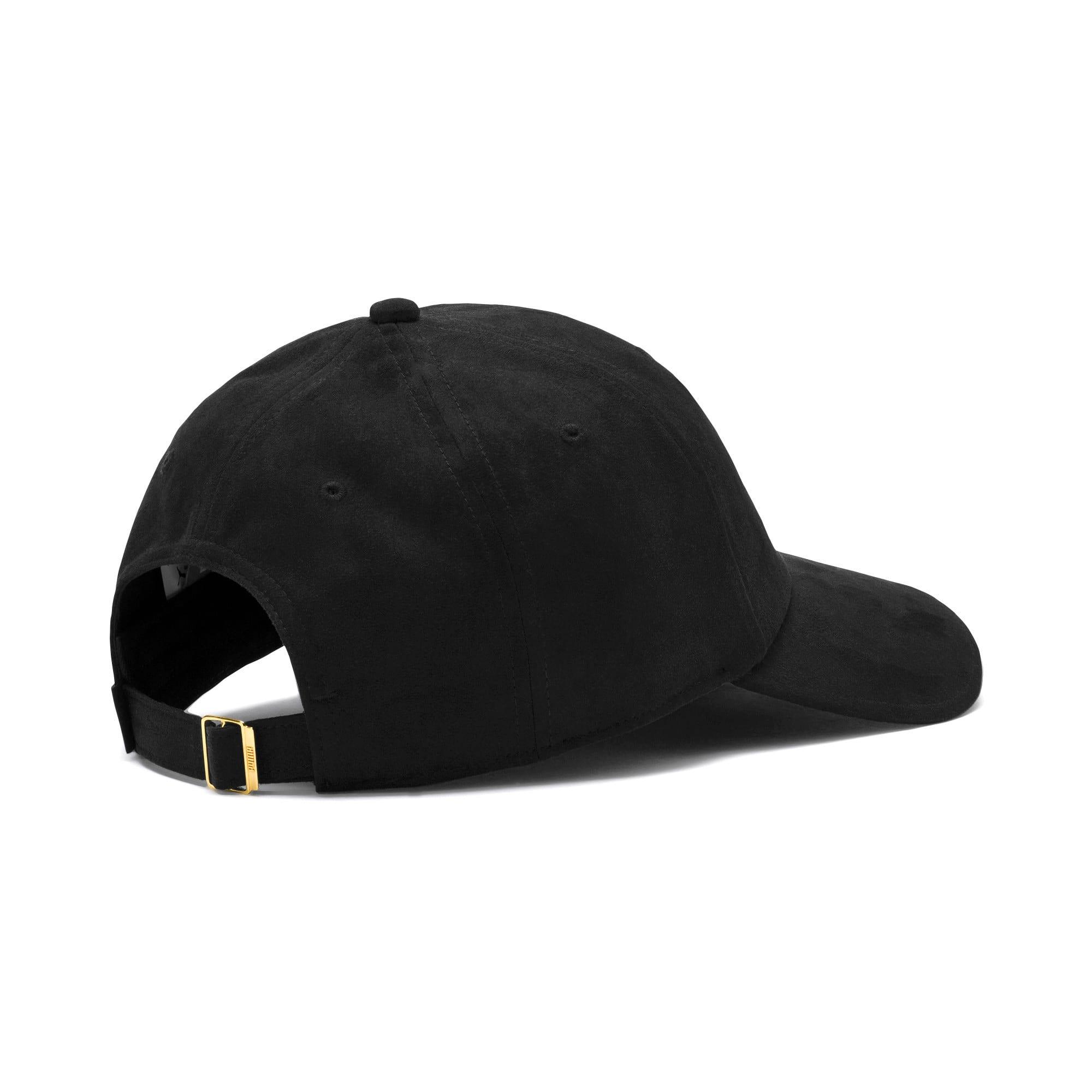 Thumbnail 3 of Winterised Suede Baseball Cap, Puma Black, medium-IND
