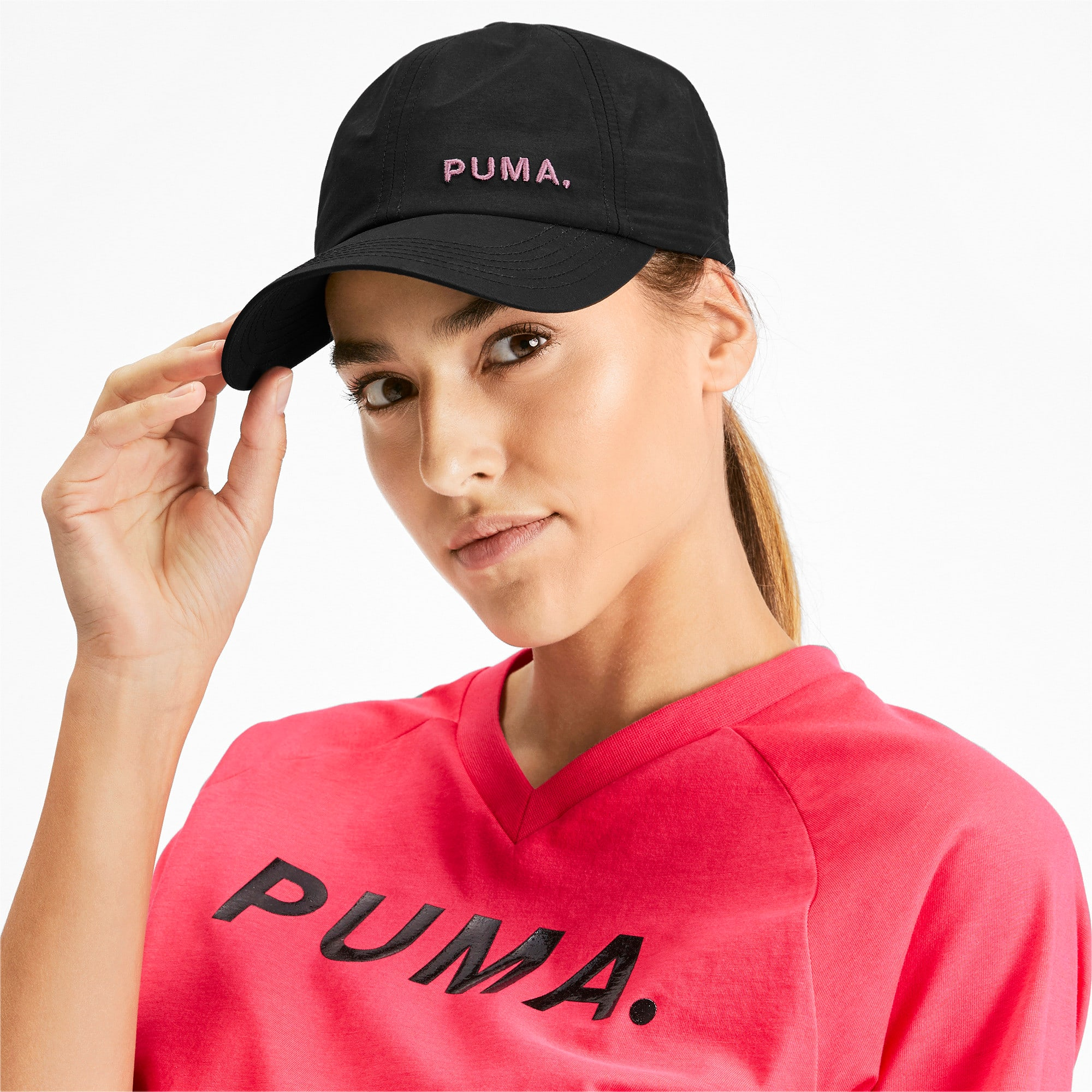 Thumbnail 2 of Women's Shift Cap, Puma Black-Bridal Rose, medium