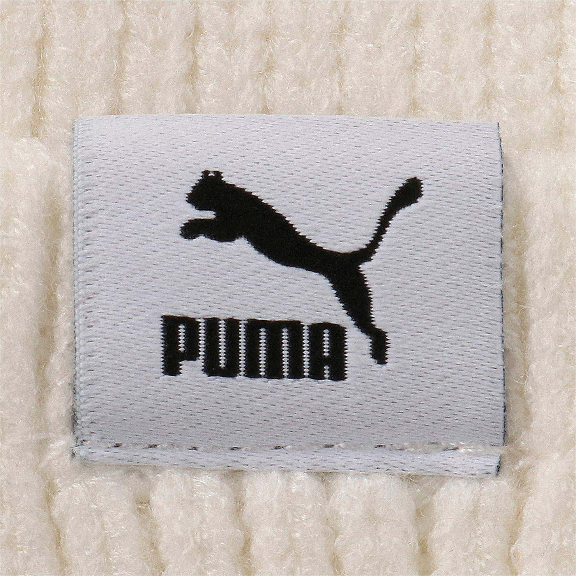 Thumbnail 4 of ハイブリッド フィット ウィメンズ トレンド ビーニー, Puma White, medium-JPN