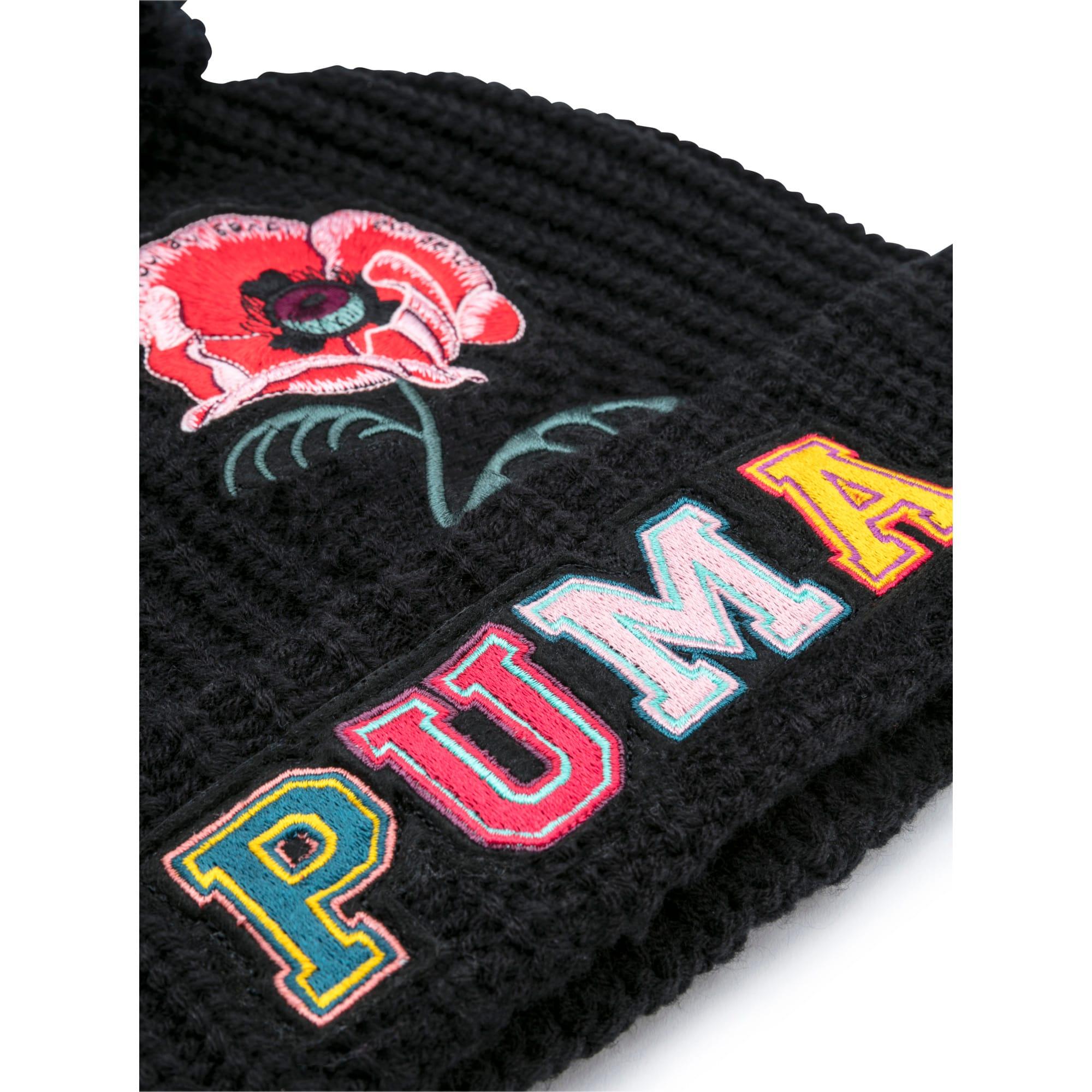 Thumbnail 3 of PUMA x SUE TSAI Beanie, Puma Black, medium