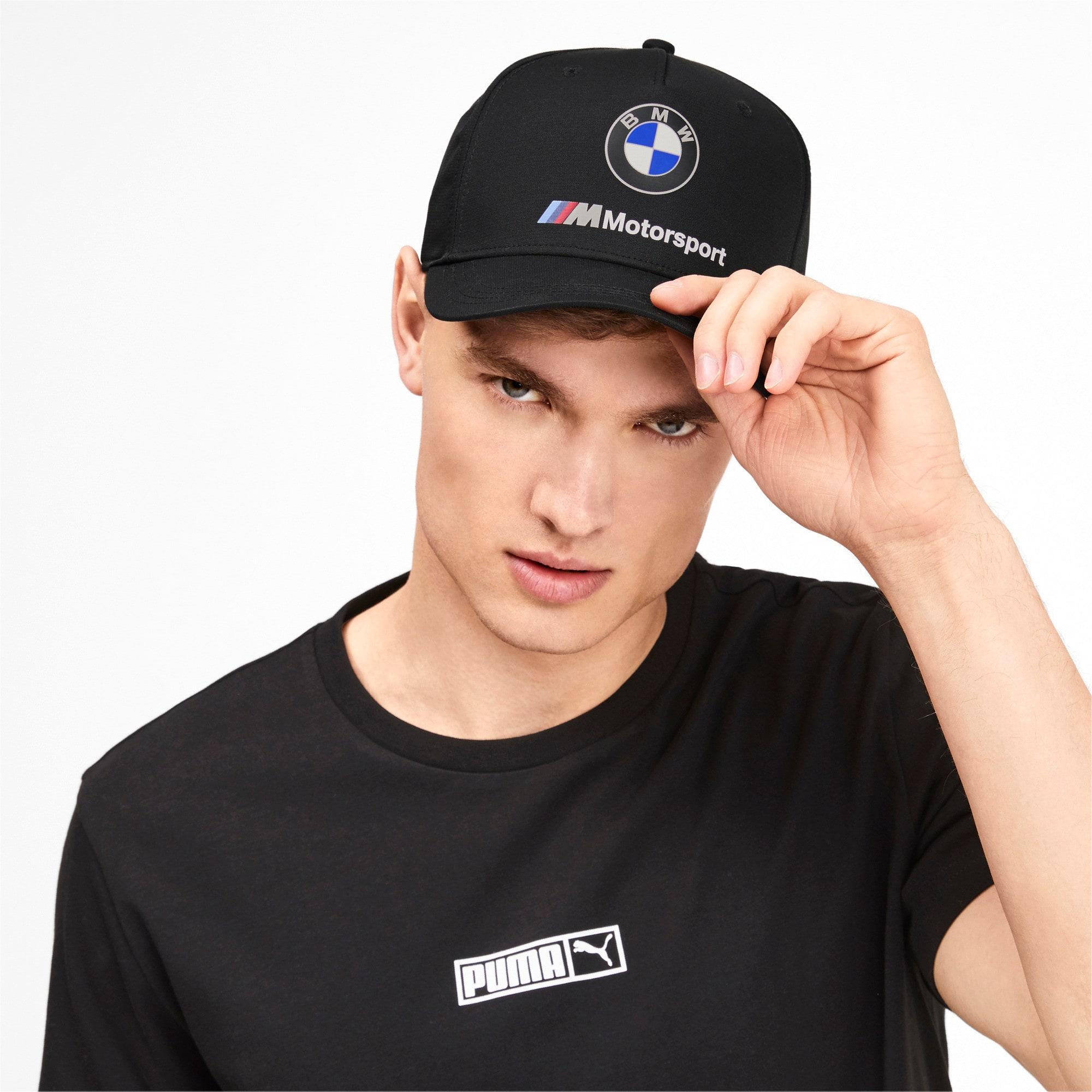 Thumbnail 2 of BMW M Motorsport Cap, Puma Black, medium