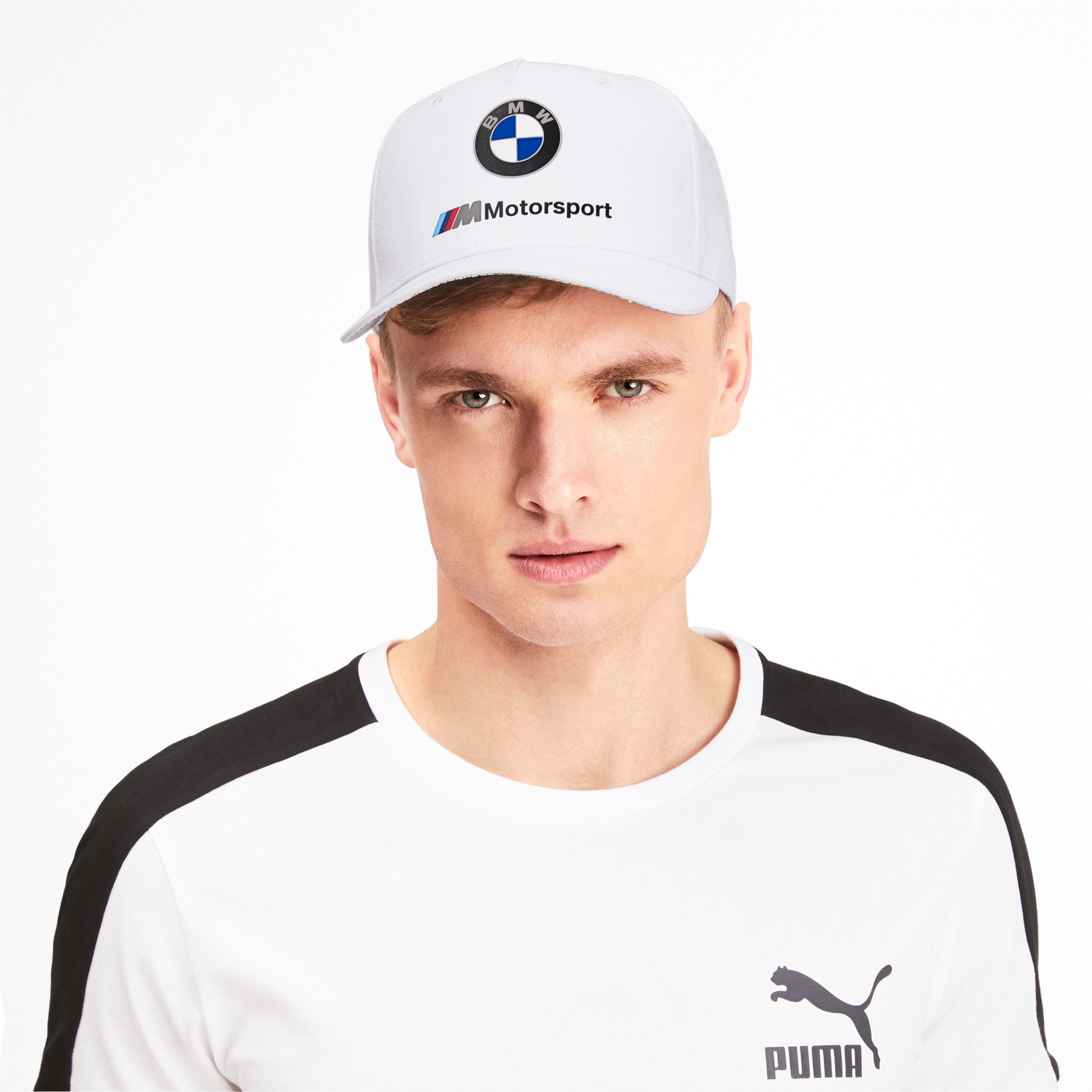Thumbnail 2 of BMW M Motorsport Cap, Puma White, medium