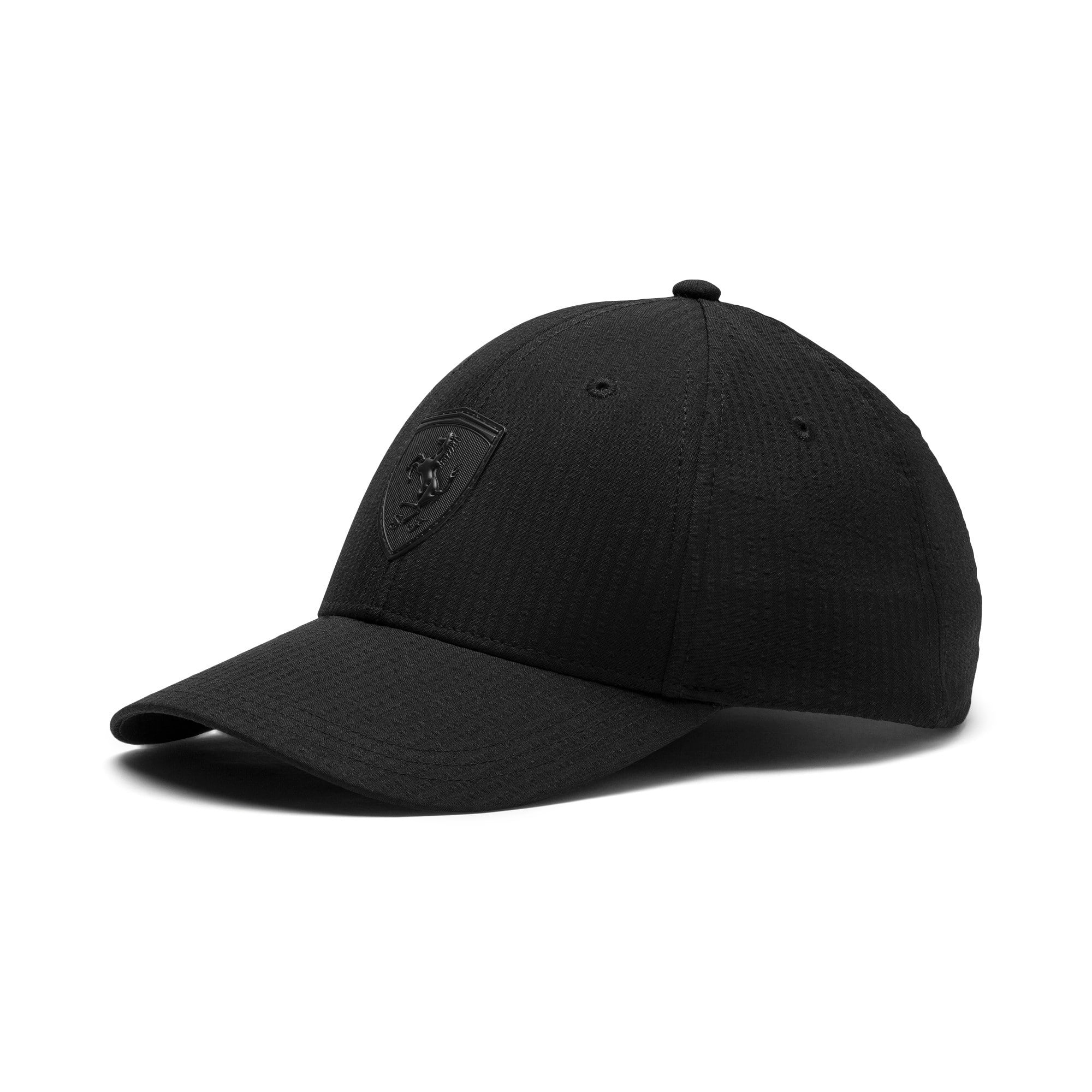 Thumbnail 1 of Scuderia Ferrari Lifestyle Baseball Cap, Puma Black, medium