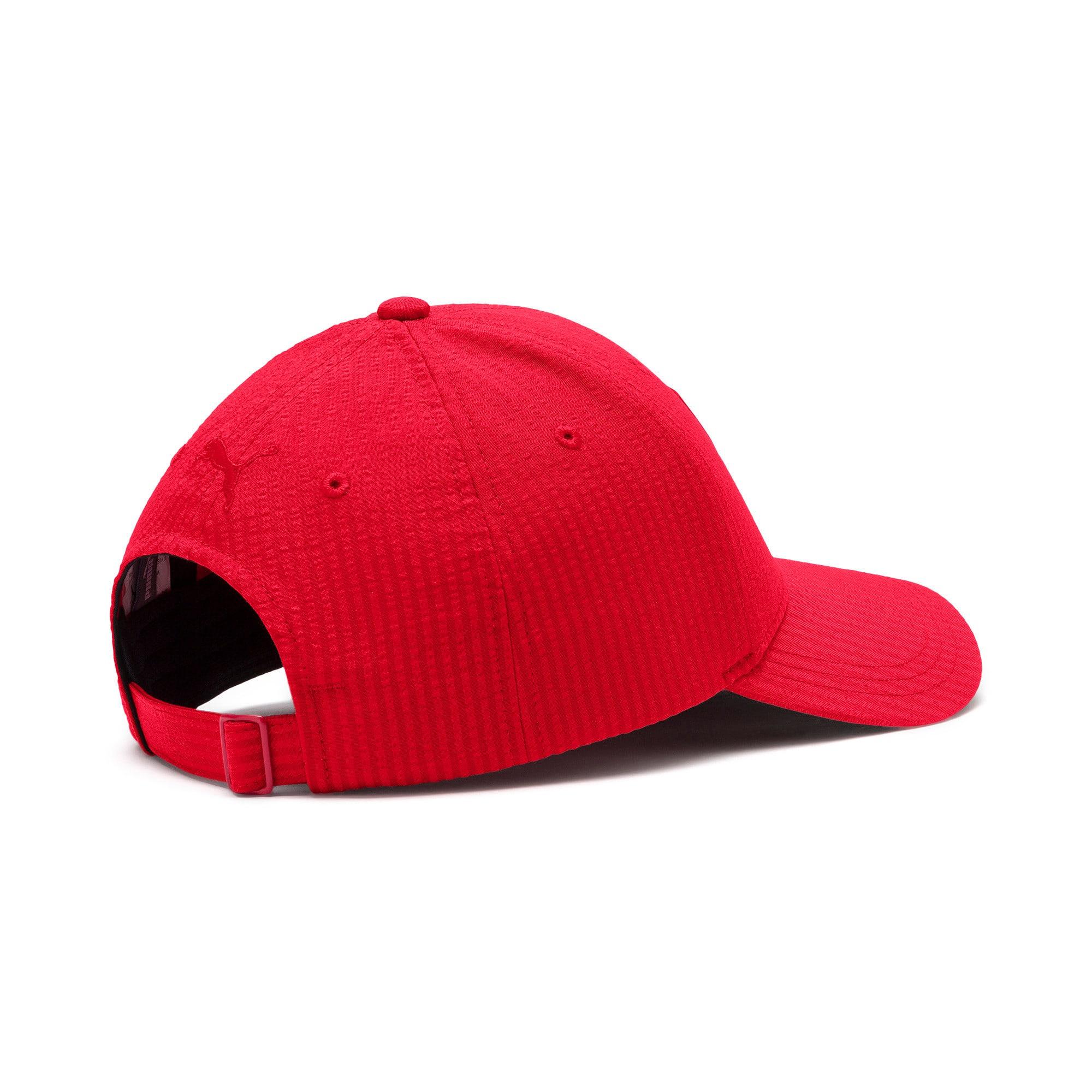 Thumbnail 3 of Ferrari Lifestyle Baseball Cap, Rosso Corsa, medium