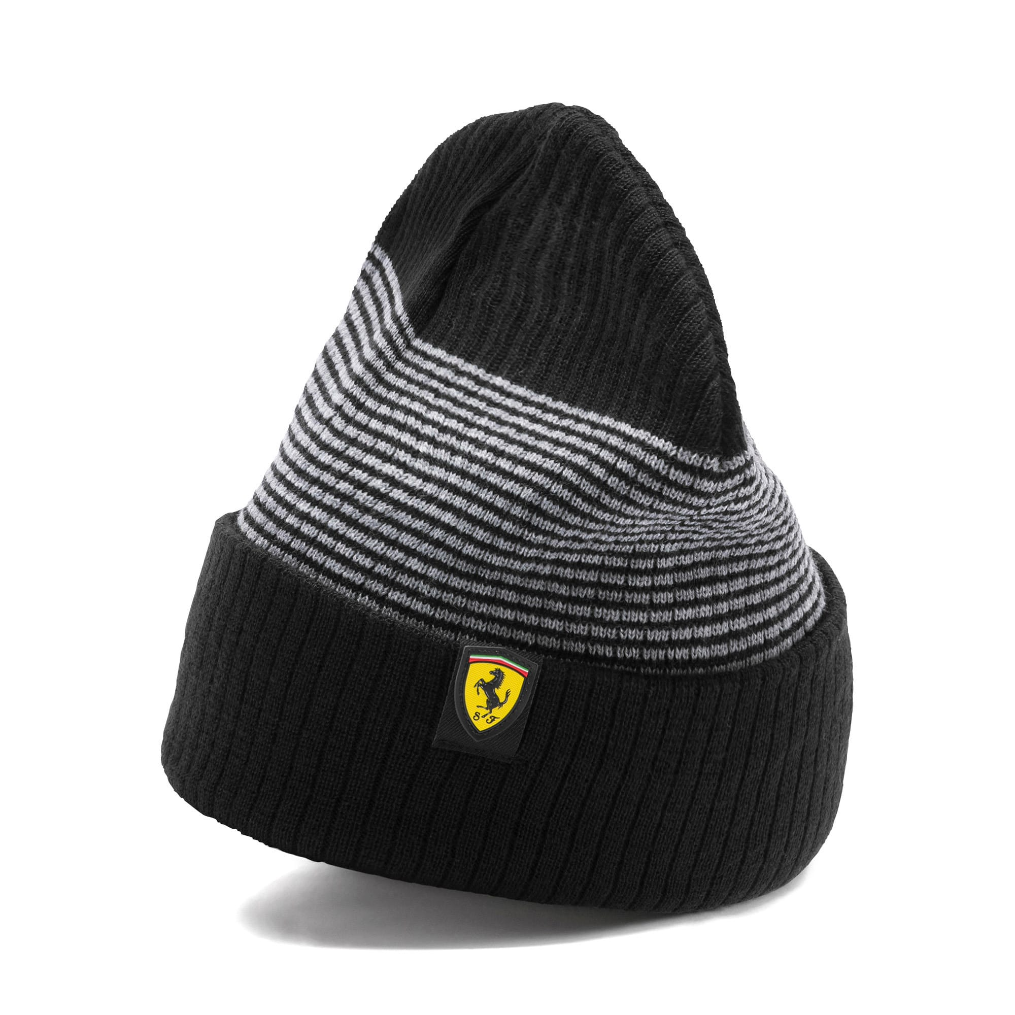 Thumbnail 1 of Scuderia Ferrari Fanwear Beanie, Puma Black, medium