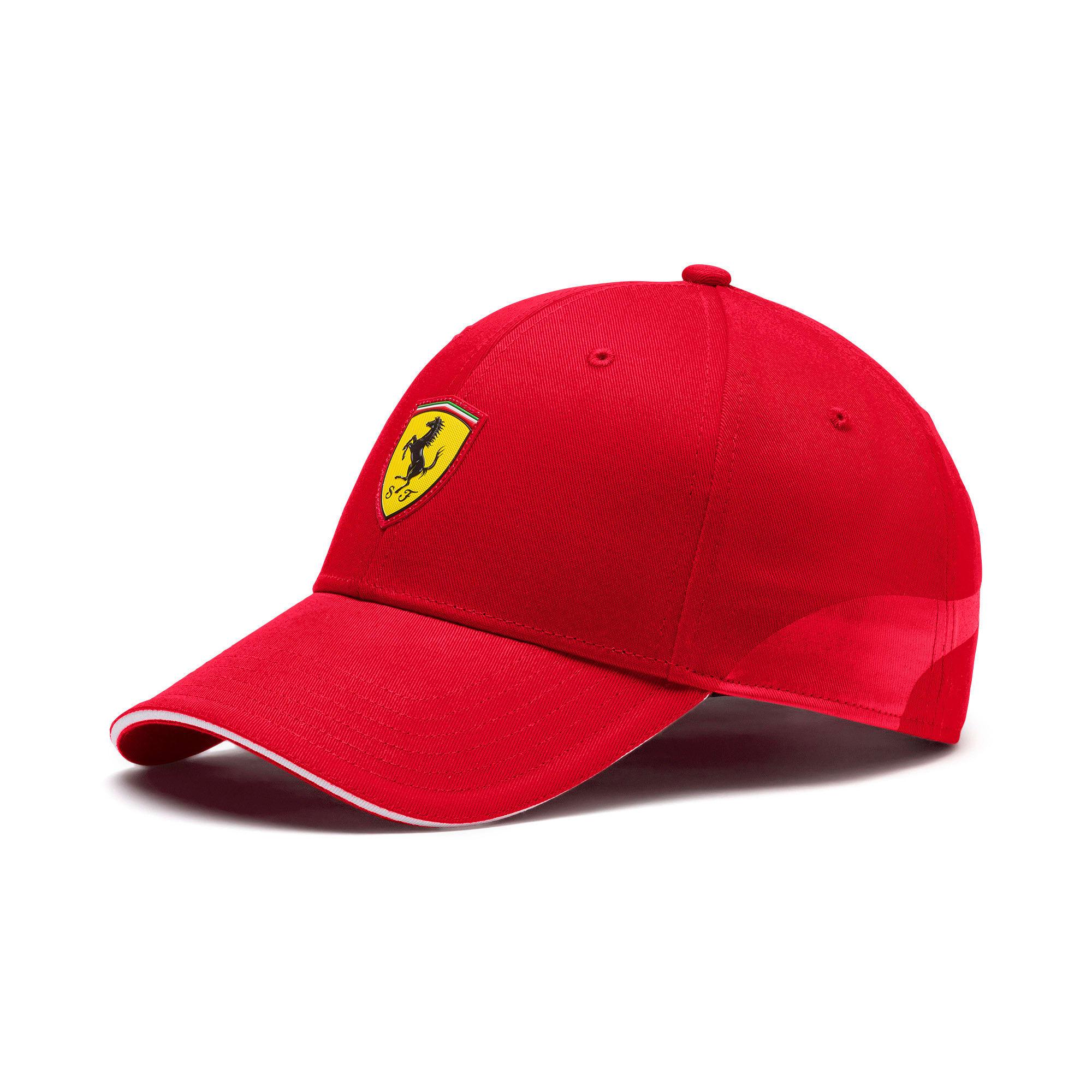 Thumbnail 1 of Ferrari Fanwear Cap, Rosso Corsa, medium