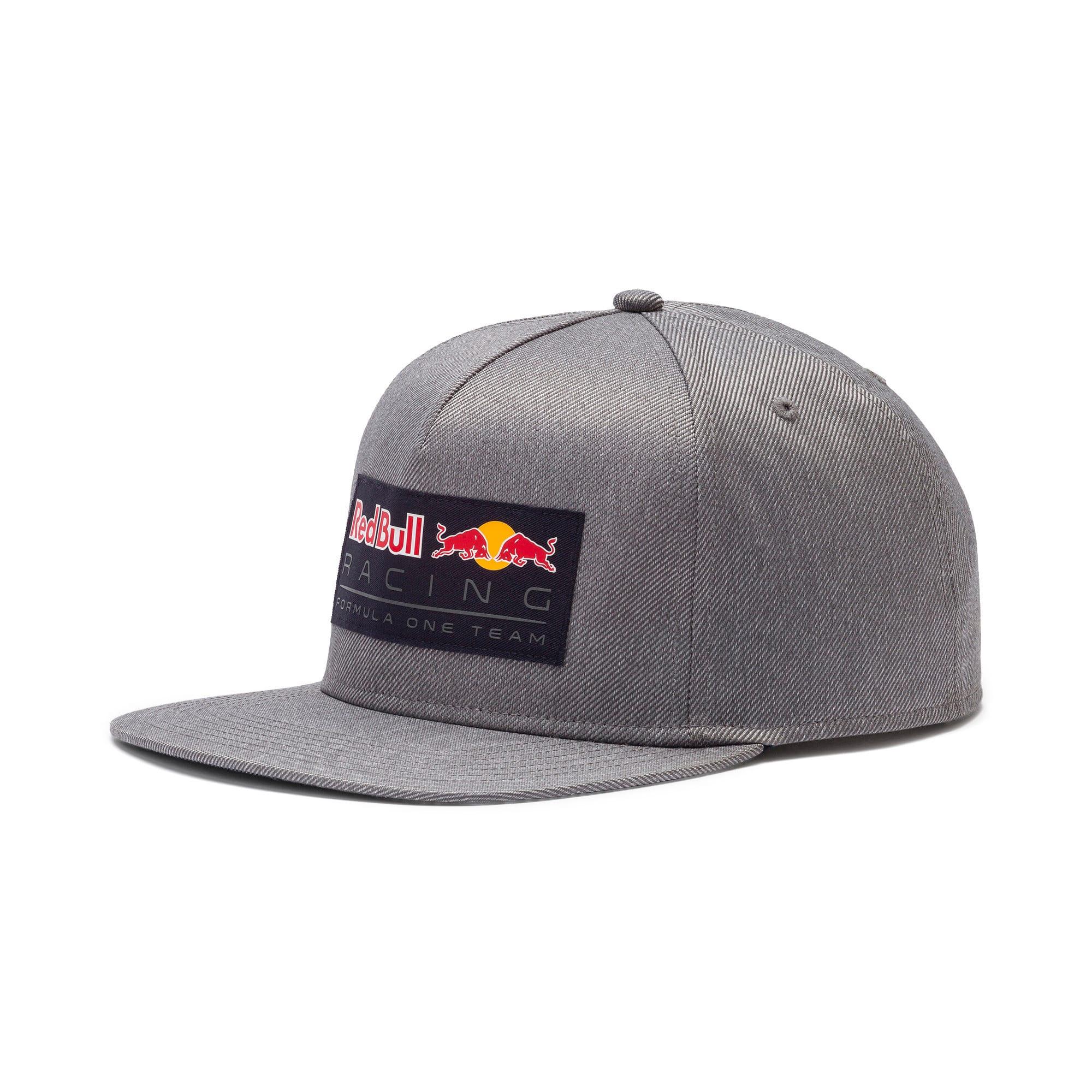 Thumbnail 1 of Red Bull Racing Lifestyle Flat Brim Cap, Smoked Pearl, medium