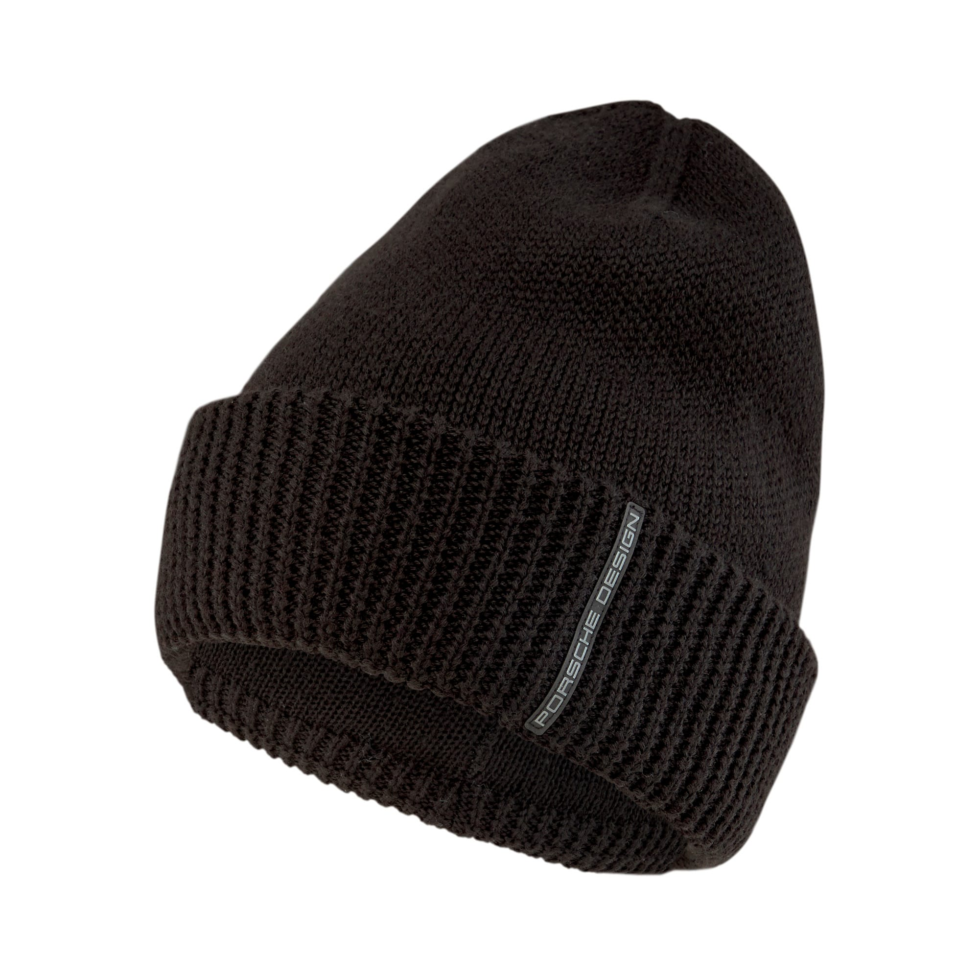Thumbnail 1 of Porsche Design Gestrickte Beanie, Puma Black, medium