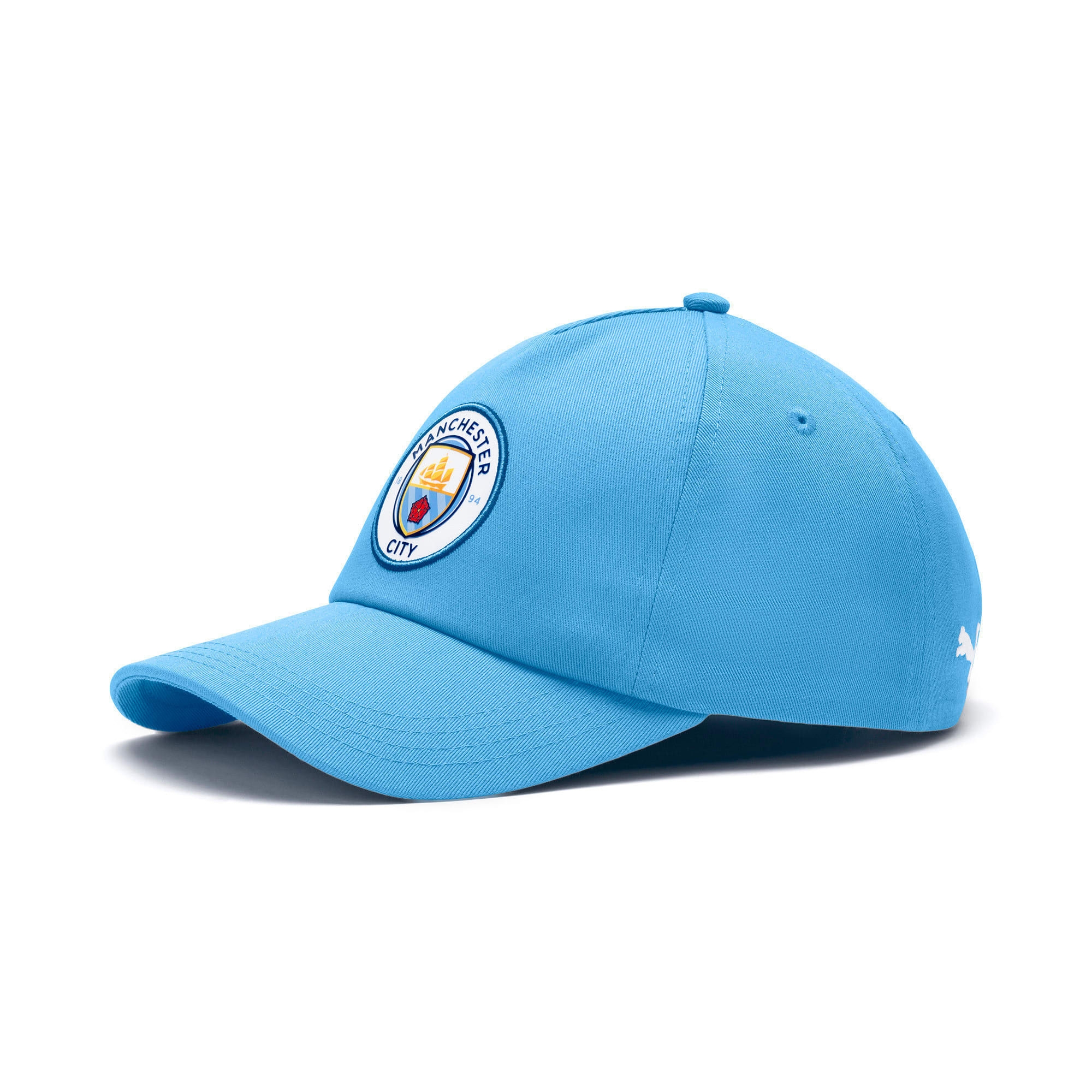 Thumbnail 1 of Man City Team Cap, Team Light Blue-Puma White, medium