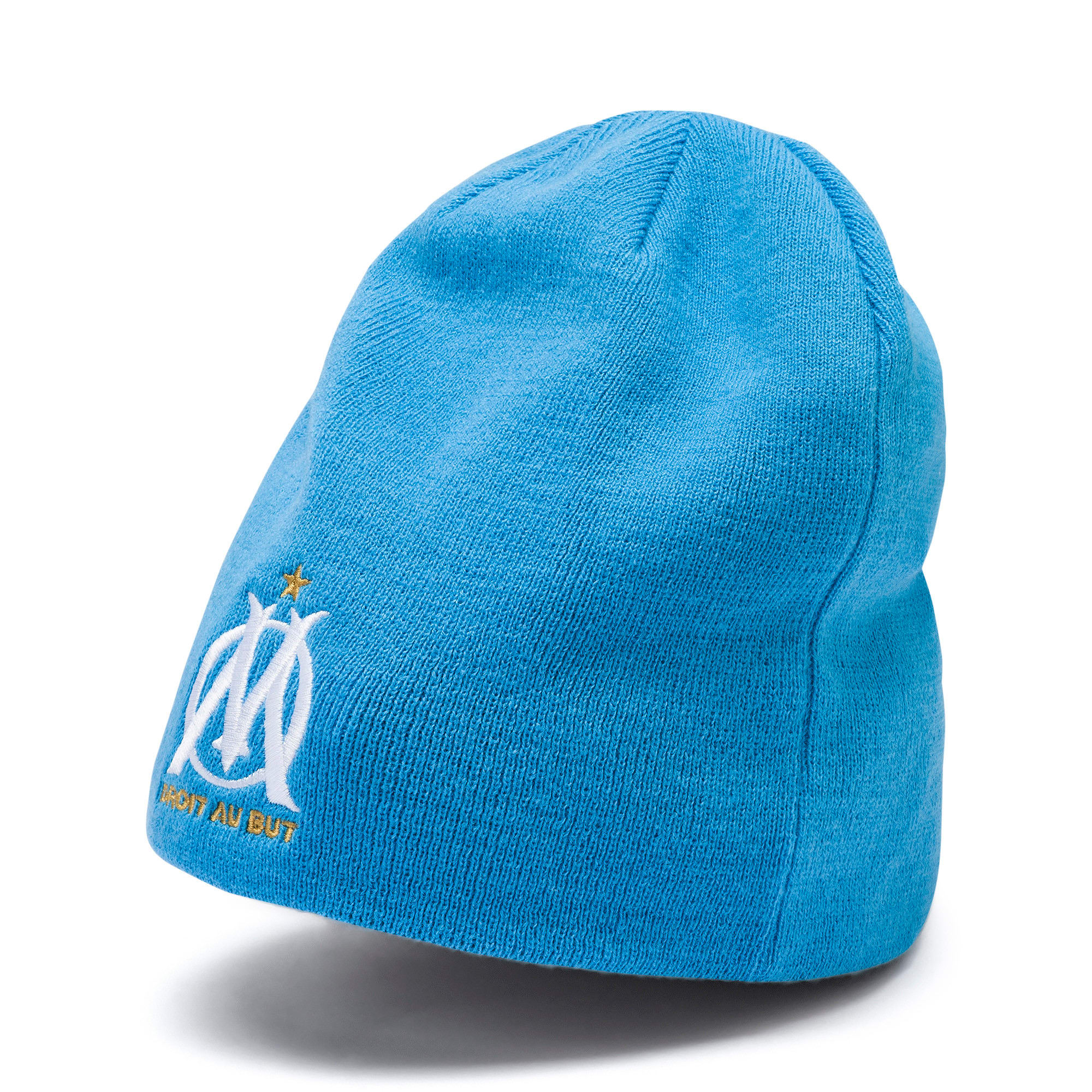 Thumbnail 3 of Bonnet réversible Olympique Marseille, Bleu Azur-Puma White, medium