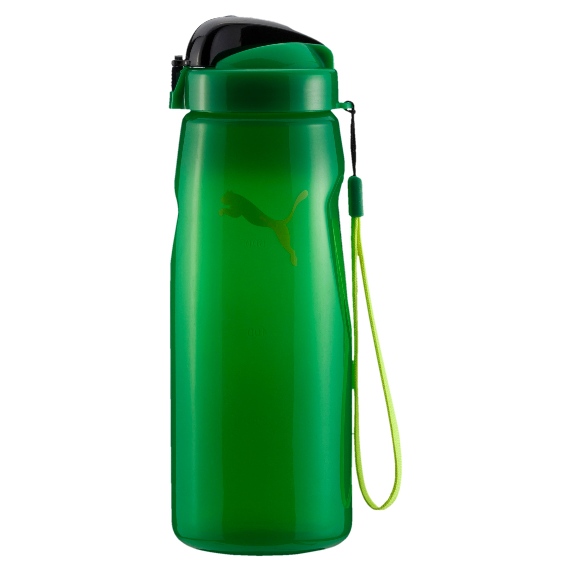 Thumbnail 1 of PUMA Lifestyle Water Bottle, Bright Green, medium-IND