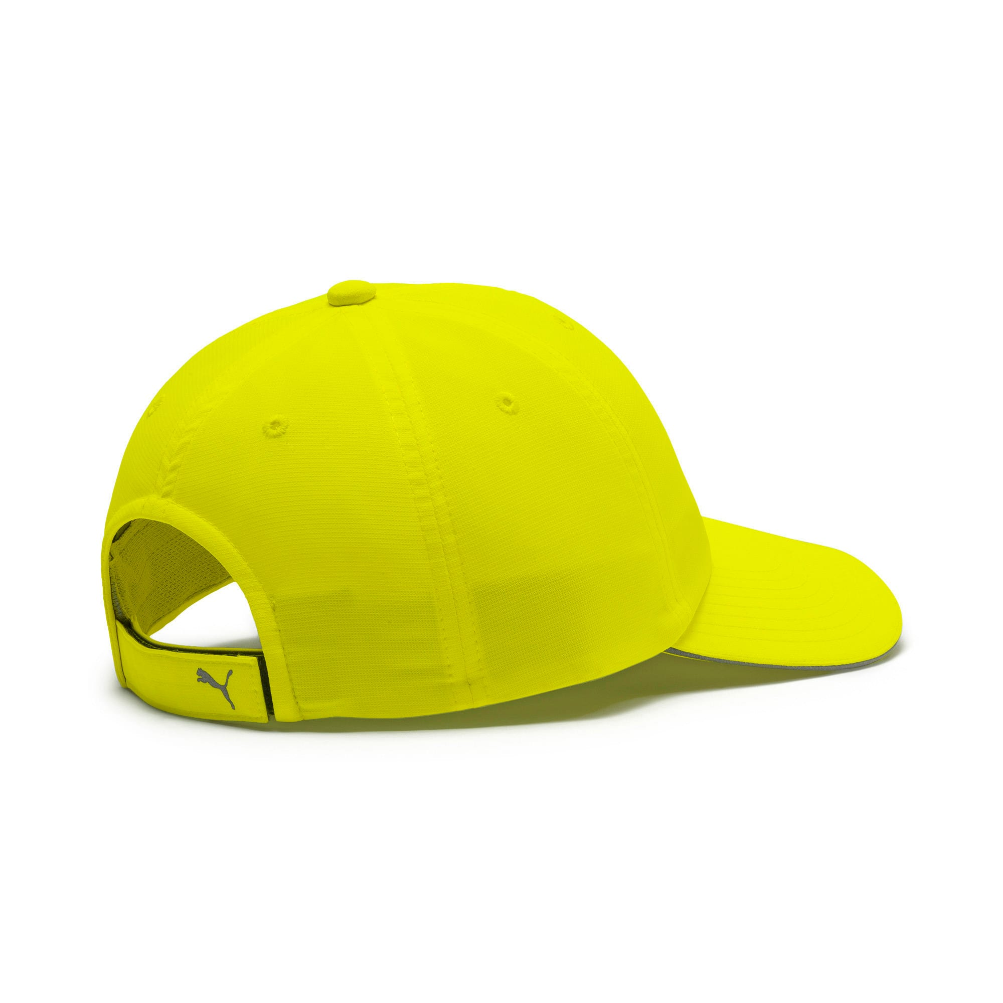 Thumbnail 2 of Running Cap III, Yellow Alert, medium