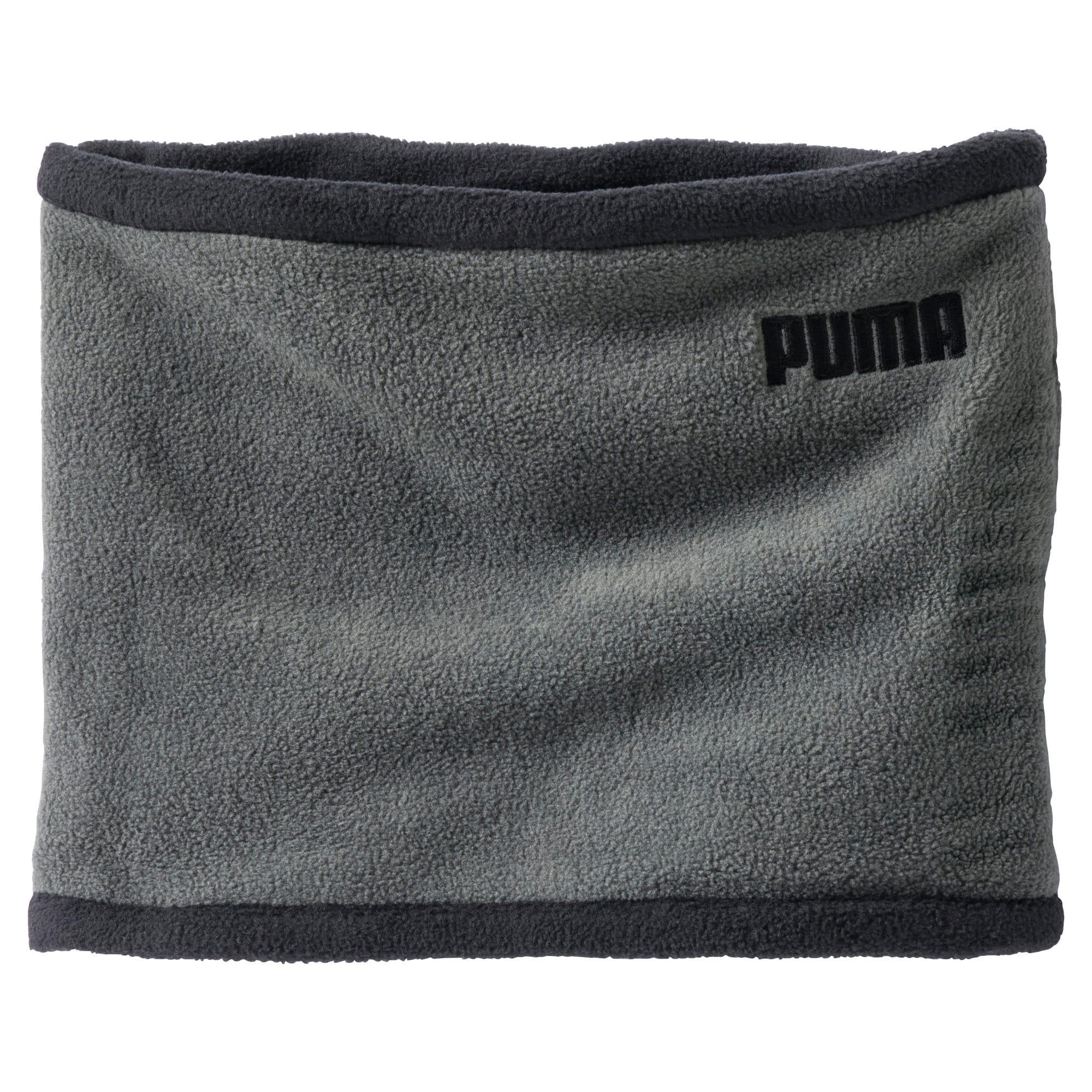 Thumbnail 1 of Fleece Rever Neck Warmer, Puma Black-Dark Shadow, medium