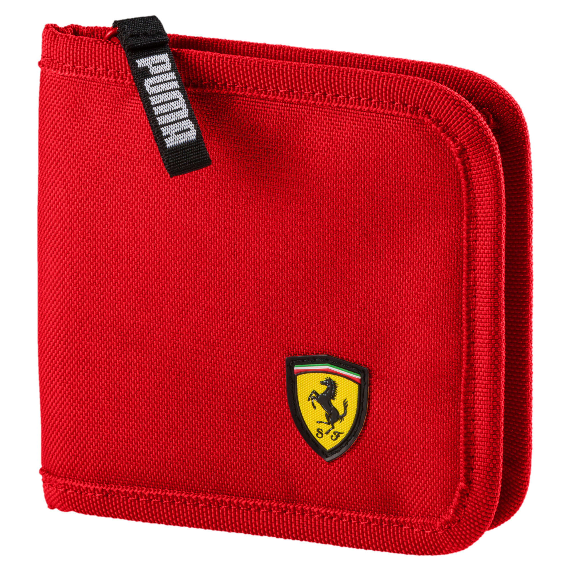 Thumbnail 1 of Scuderia Ferrari Fanwear Wallet, Rosso Corsa, medium
