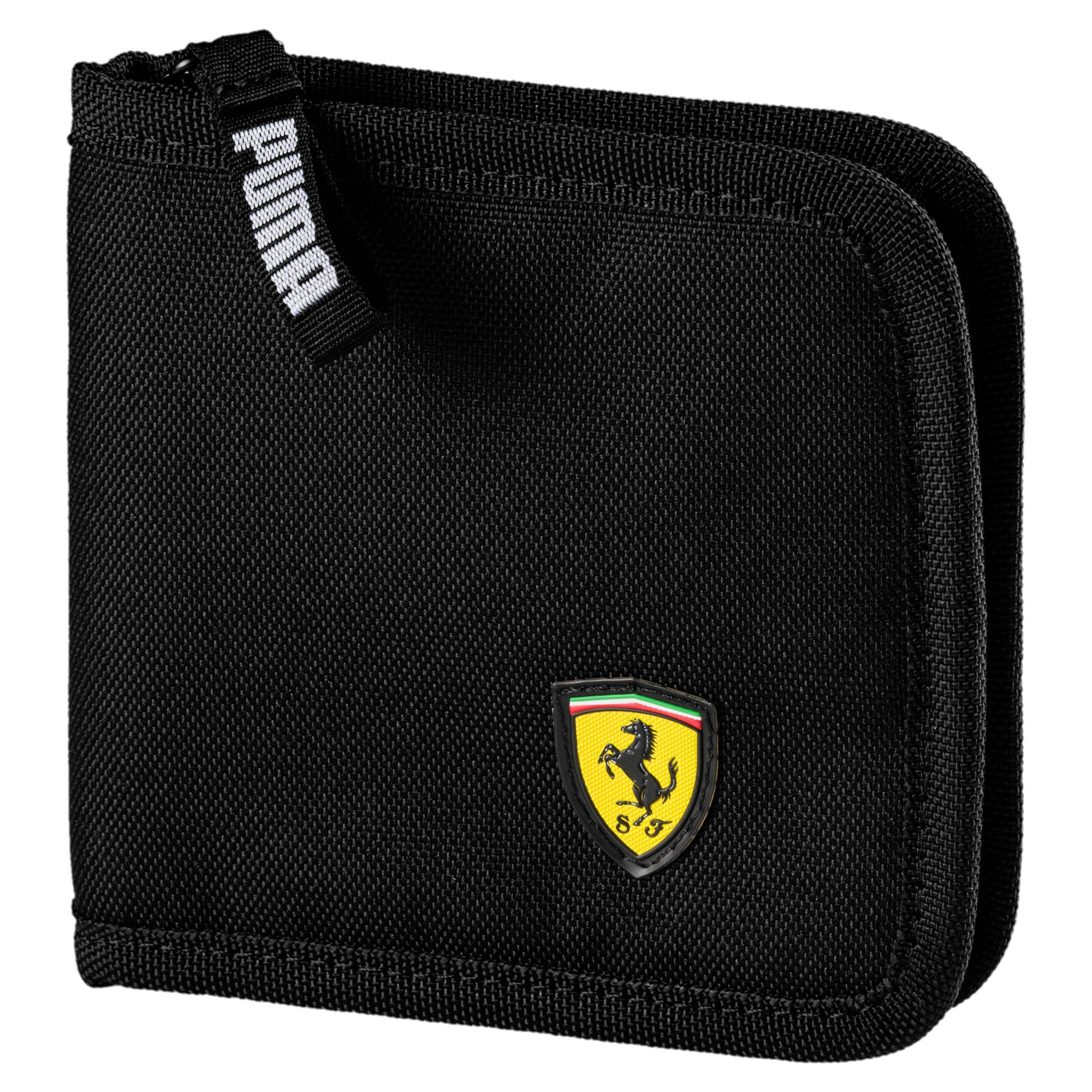 Miniatura 1 de Billetera Scuderia Ferrari para fanáticos, Puma Black, mediano