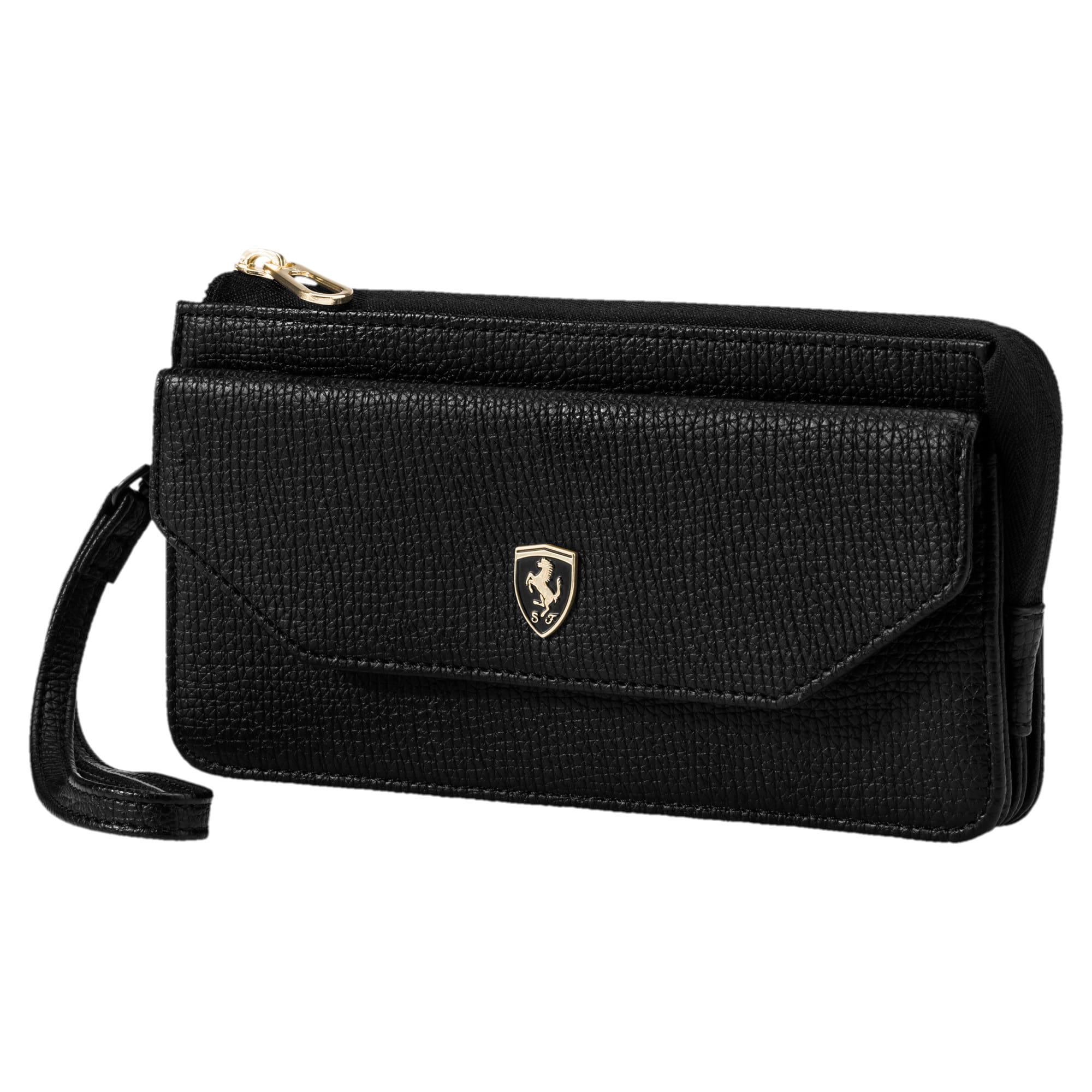 Anteprima 1 di Ferrari Lifestyle Women's Wallet, Puma Black, medio
