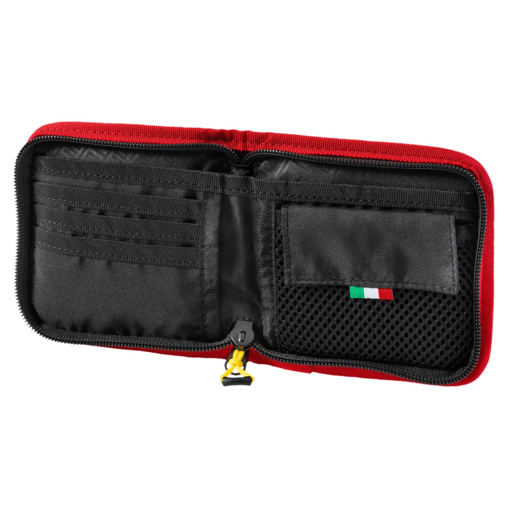 Miniatura 3 de Billetera Scuderia Ferrari para fanáticos, Rosso Corsa, mediano
