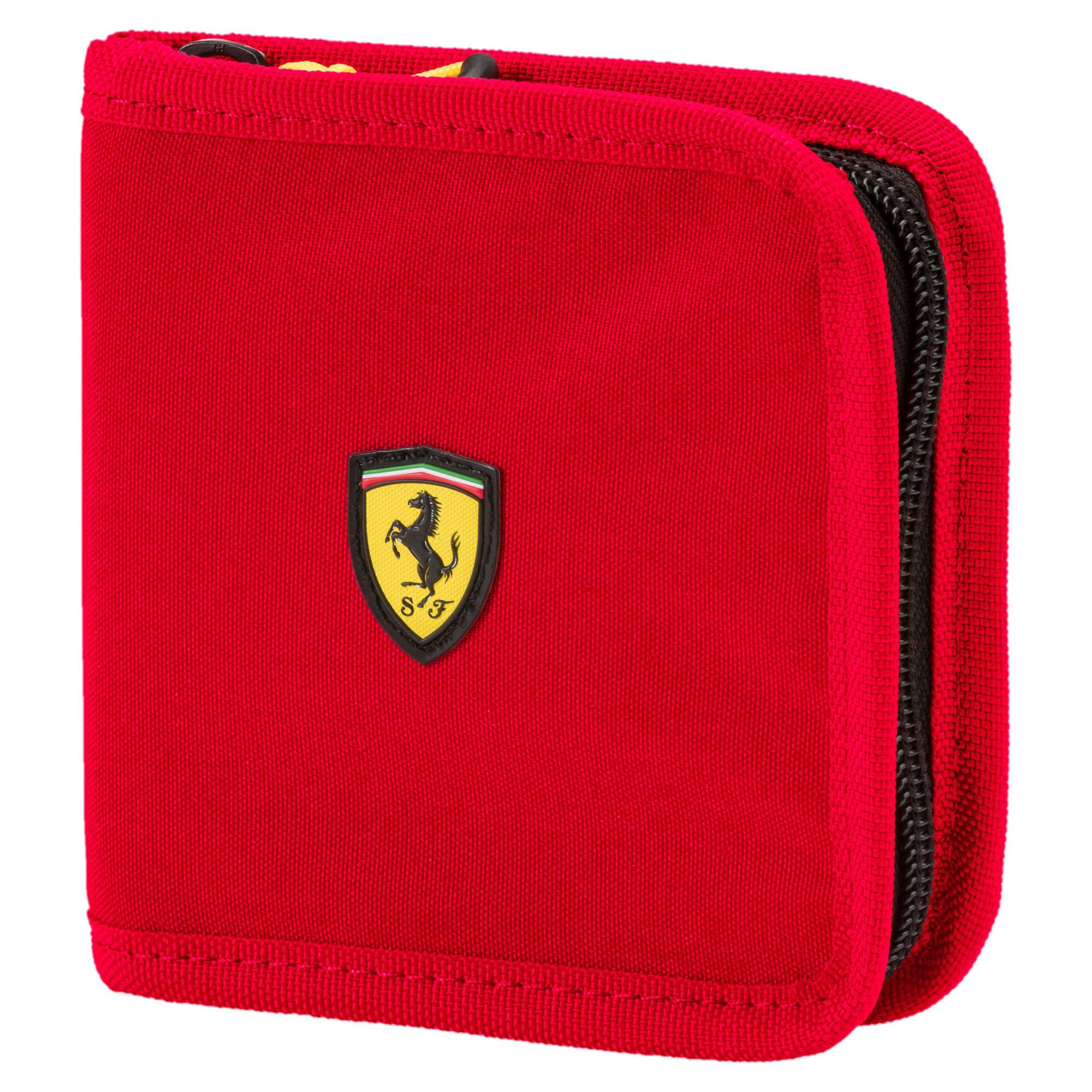 Miniatura 1 de Billetera Scuderia Ferrari para fanáticos, Rosso Corsa, mediano