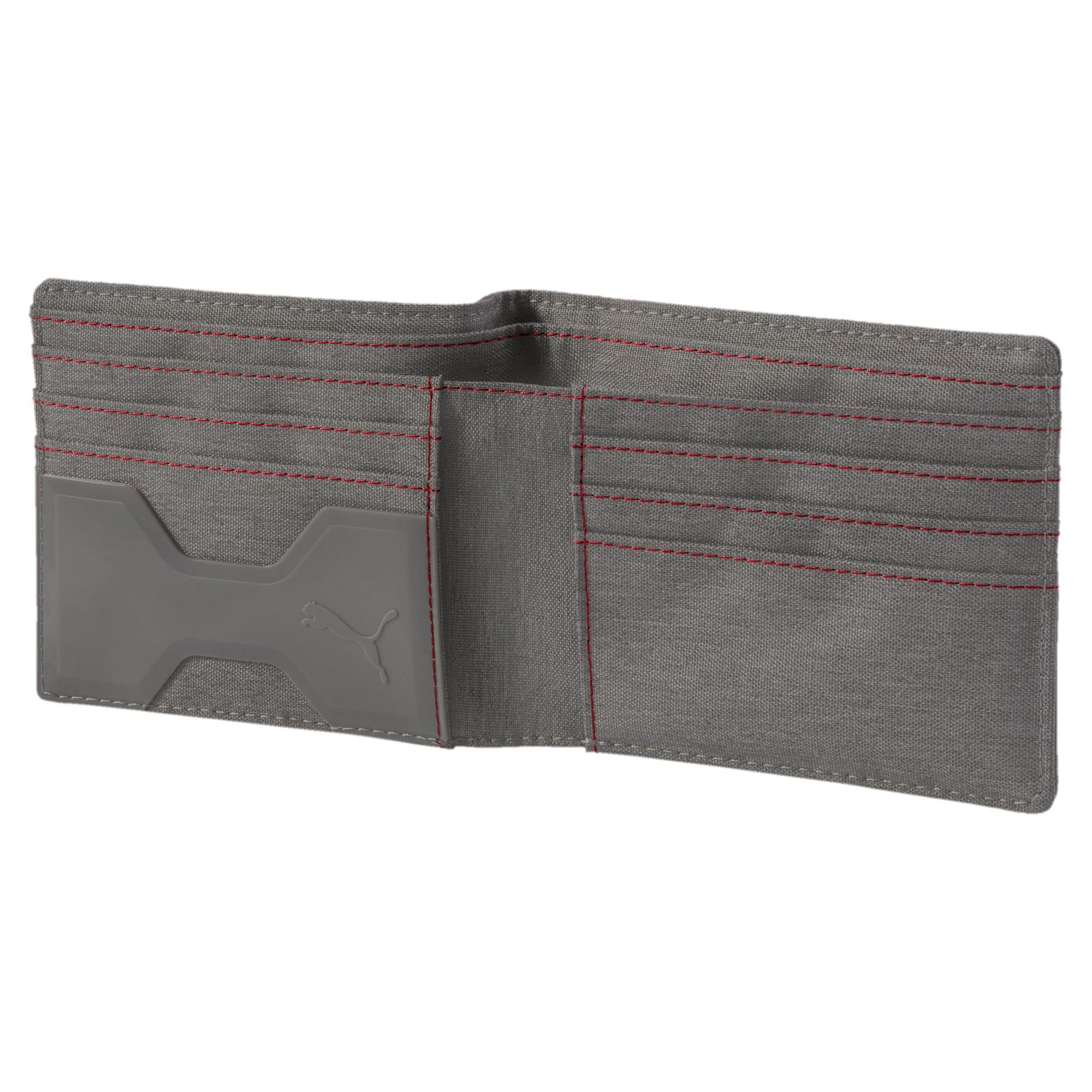 Thumbnail 3 of Scuderia Ferrari Lifestyle Wallet, Charcoal Gray, medium