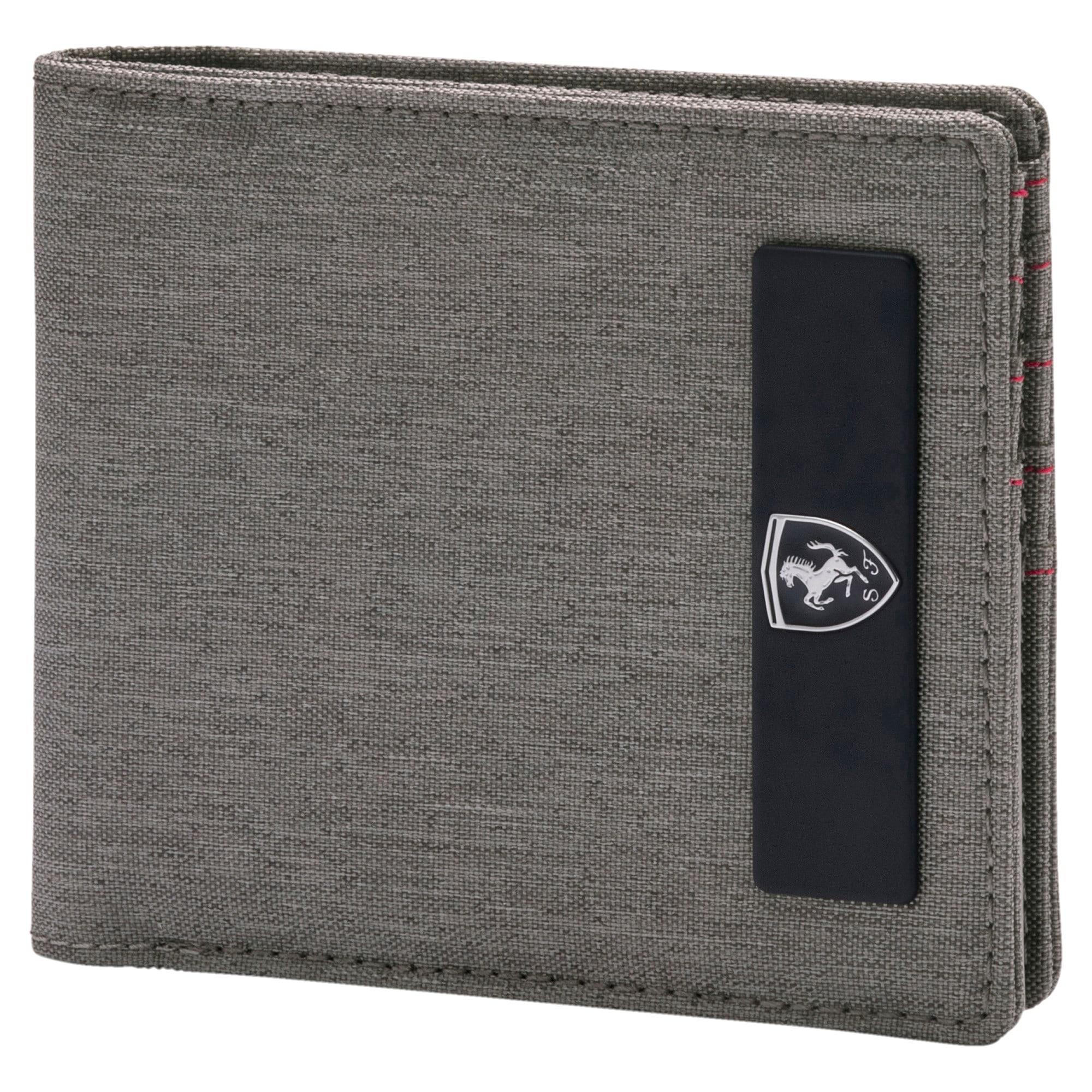 Thumbnail 1 of Scuderia Ferrari Lifestyle Wallet, Charcoal Gray, medium