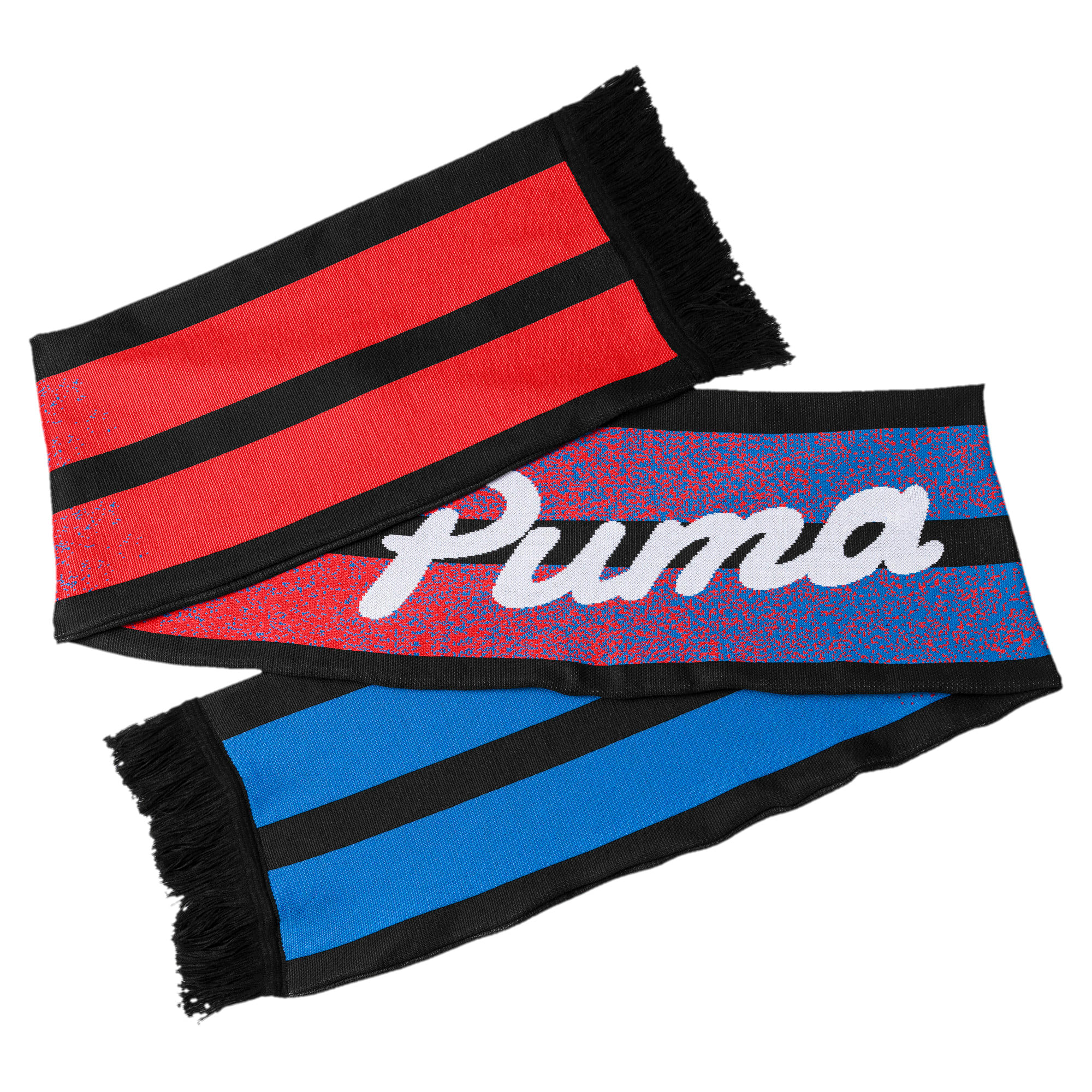Thumbnail 2 of Acid Bleach Scarf, Puma Black-Poppy Red, medium