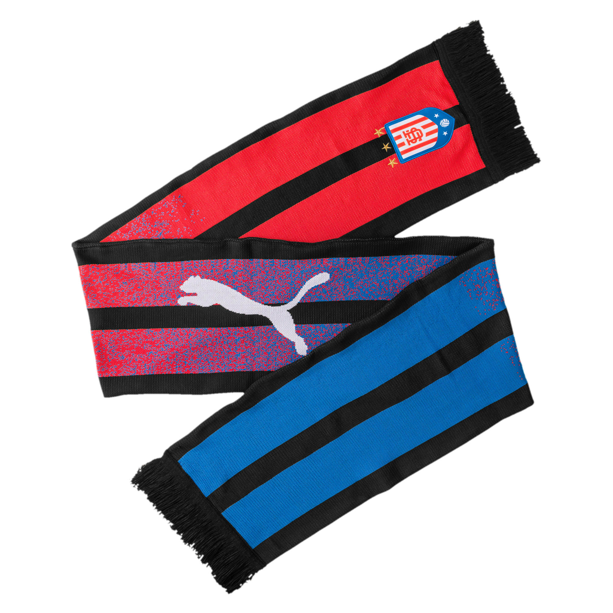 Thumbnail 1 of Acid Bleach Scarf, Puma Black-Poppy Red, medium