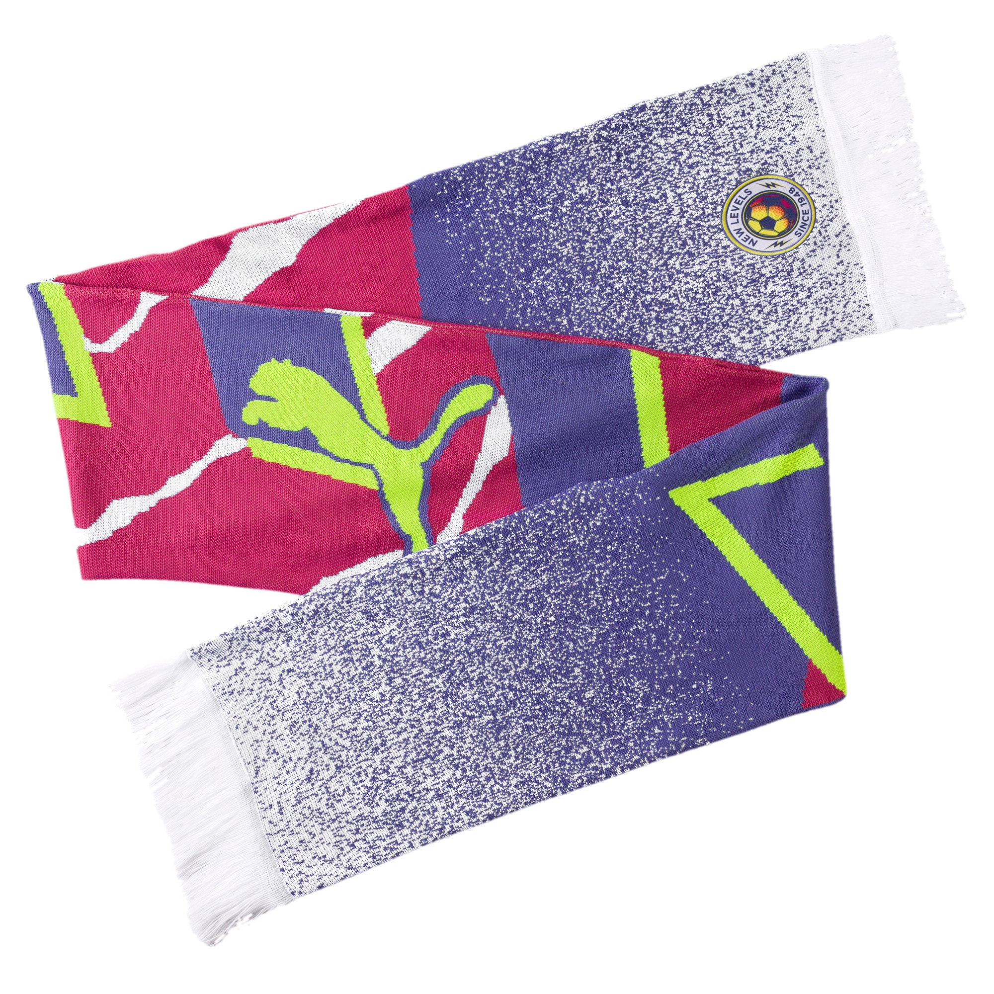 Thumbnail 1 of Retro White Scarf, Puma White-Pink Glo, medium